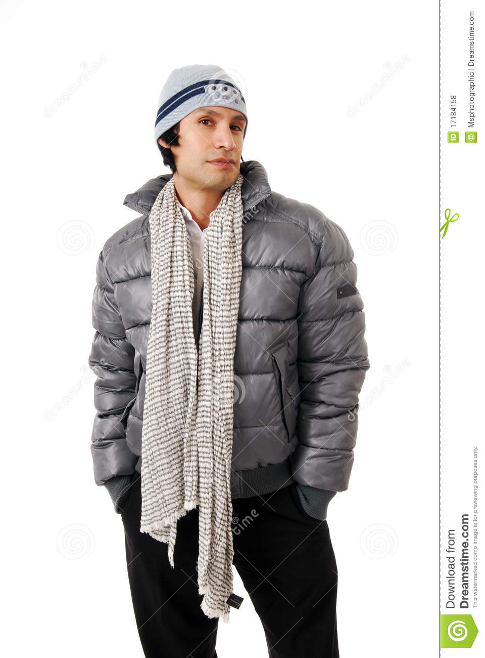 Stylish Man In Winter Clothes Royalty Free Stock Photos ...