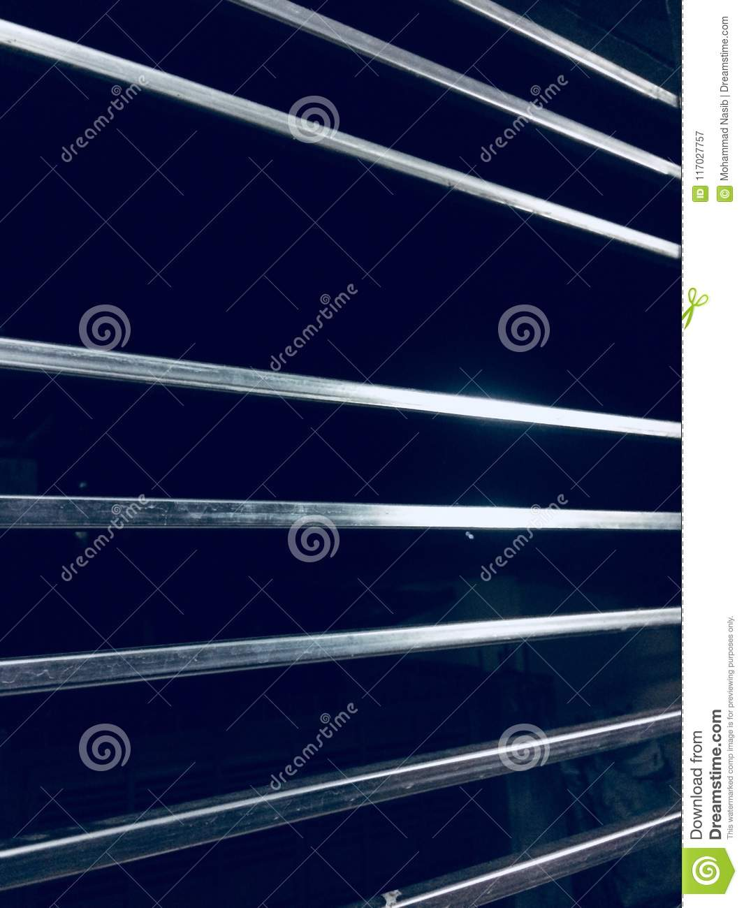 Download Stylish Metallic Interior Protection Grill Object Photograph Stock Image - Image of shape, poster: 117027757