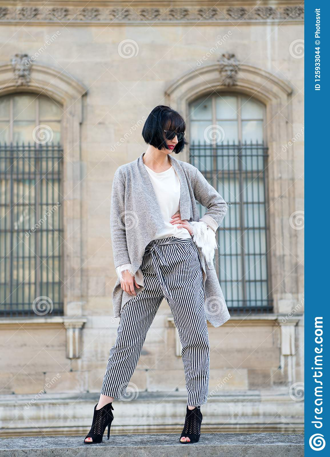 Swell Stylish Outfit Woman Fashionable Model Posing Outdoor Girl Schematic Wiring Diagrams Amerangerunnerswayorg