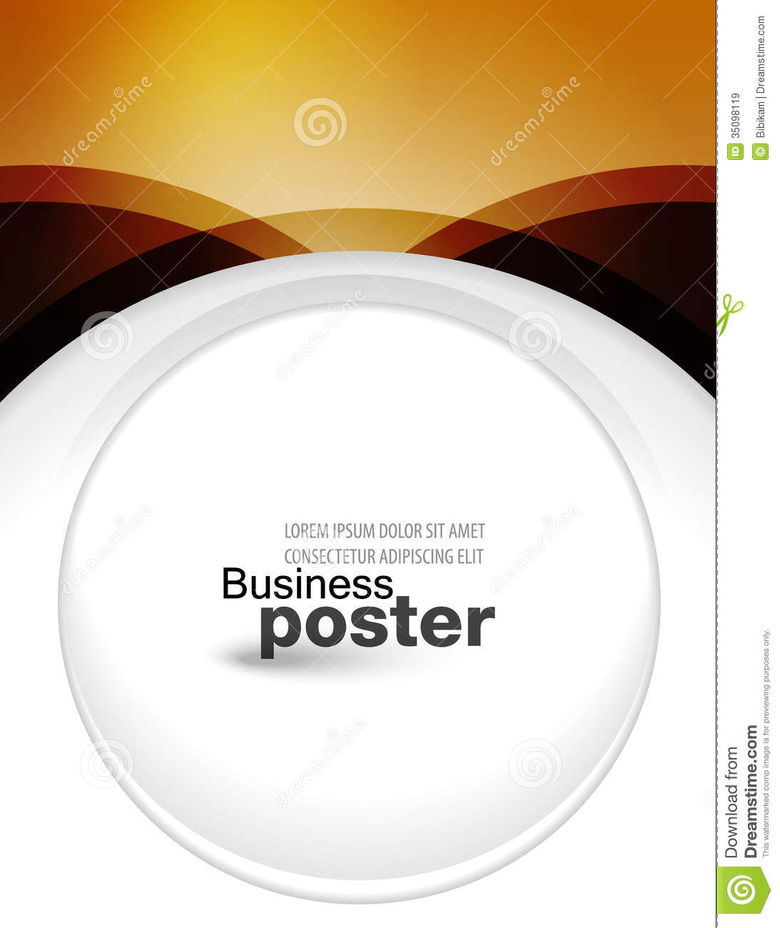 Stylish Presentation And Designer Of Business Post