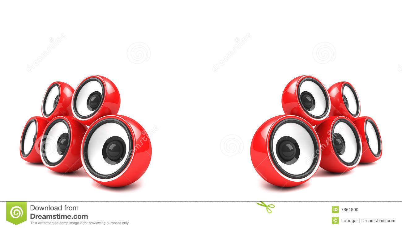 Stylish Speakers Endearing Of Red Speakers Pictures