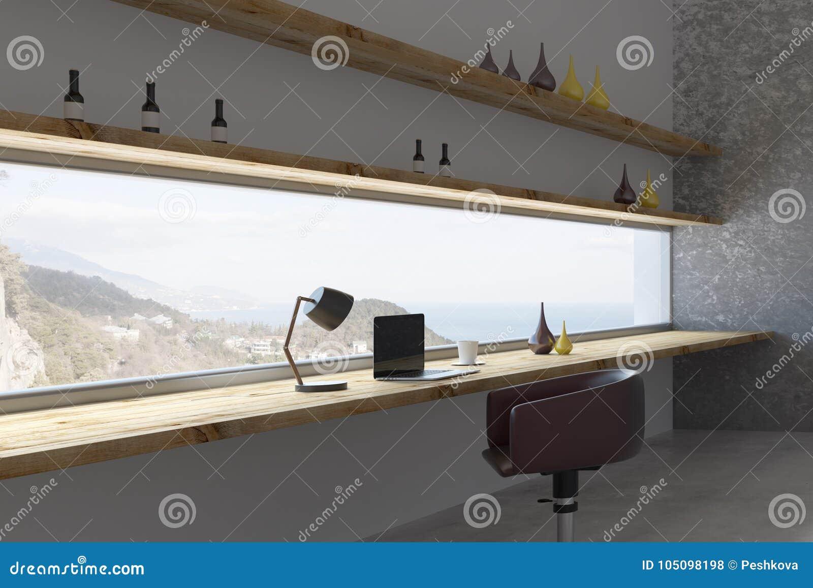 Stylish Room Interior Design Stock Illustration Illustration Of
