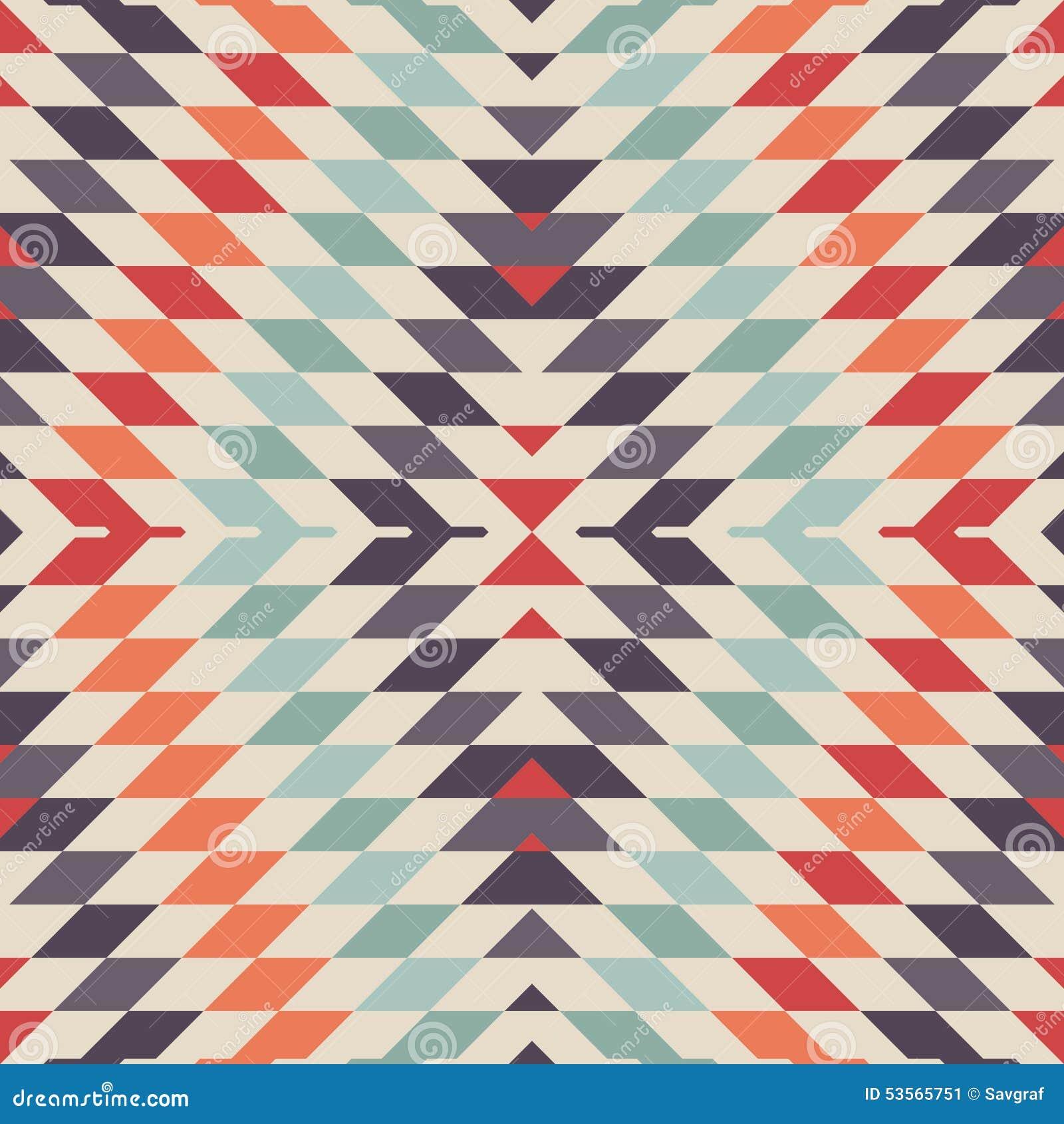 Ikat Pattern.Modern Ikat Tribal Seamless Pattern For Web ...