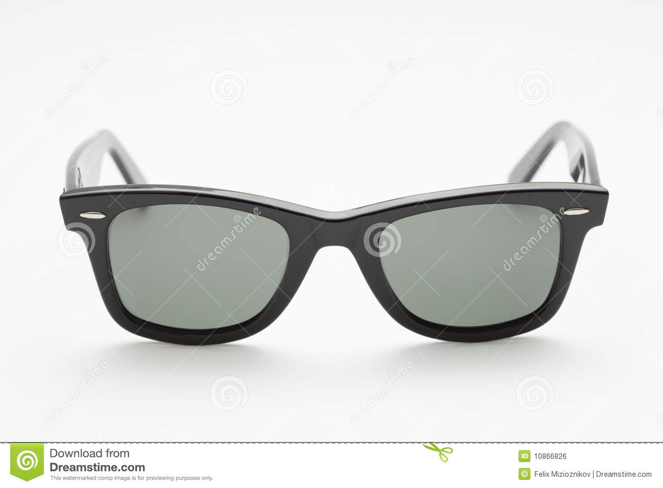 6f703936743f Fashionable pair of sunglasses isolated on a white background
