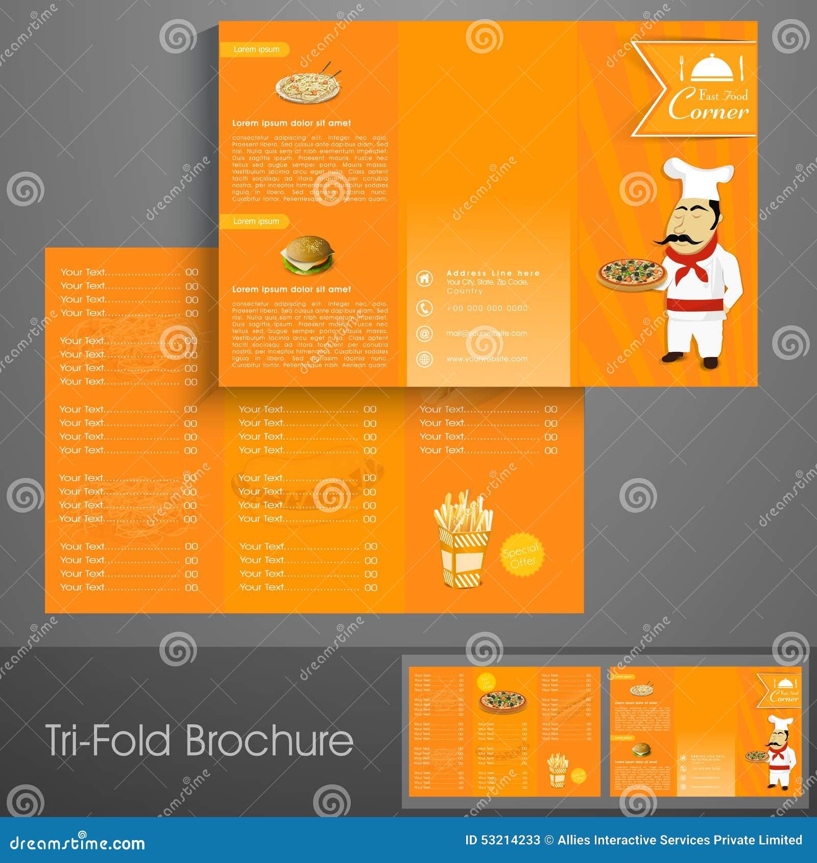 Brochure Fast Food