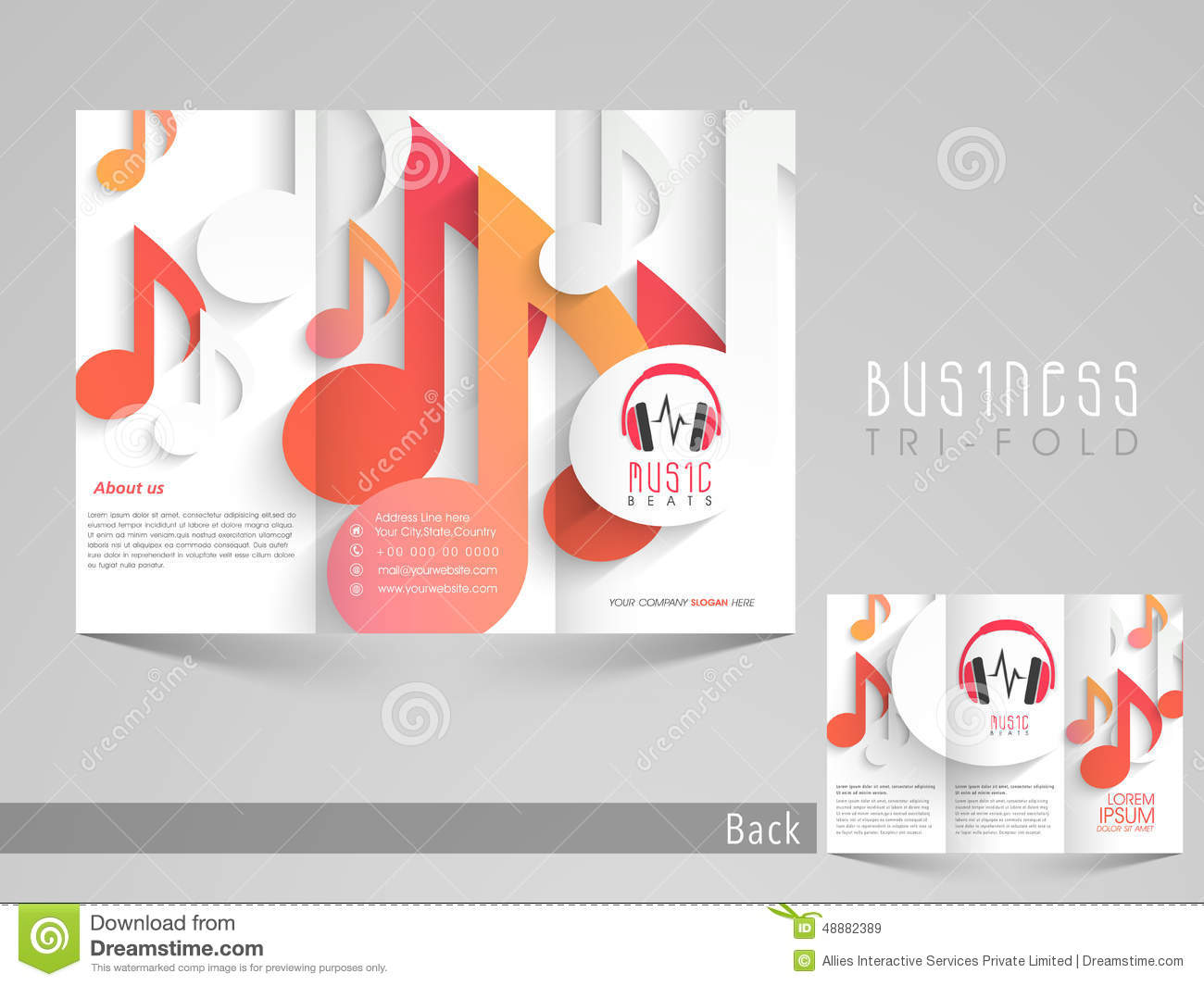 Music Brochure Template Photos Image 28275403 – Music Brochure