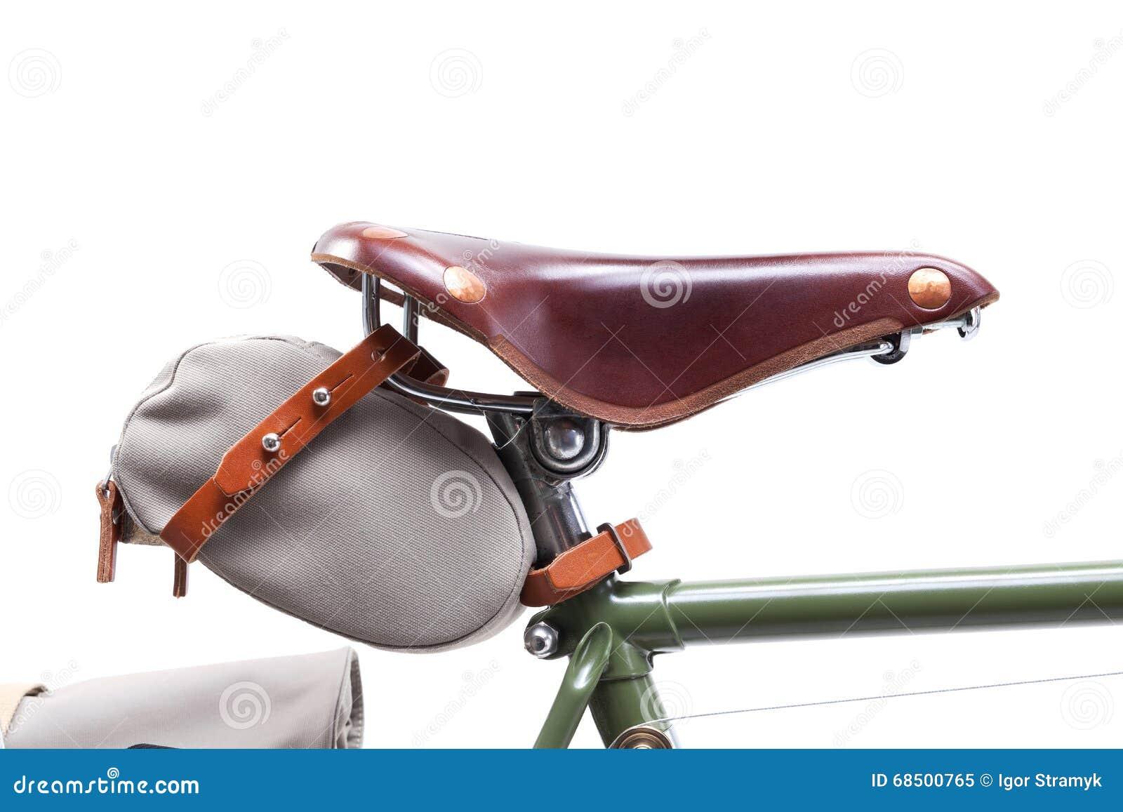 f7b8278c304 Stylish Vintage Bicycle Saddle Stock Image - Image of isolated, race ...