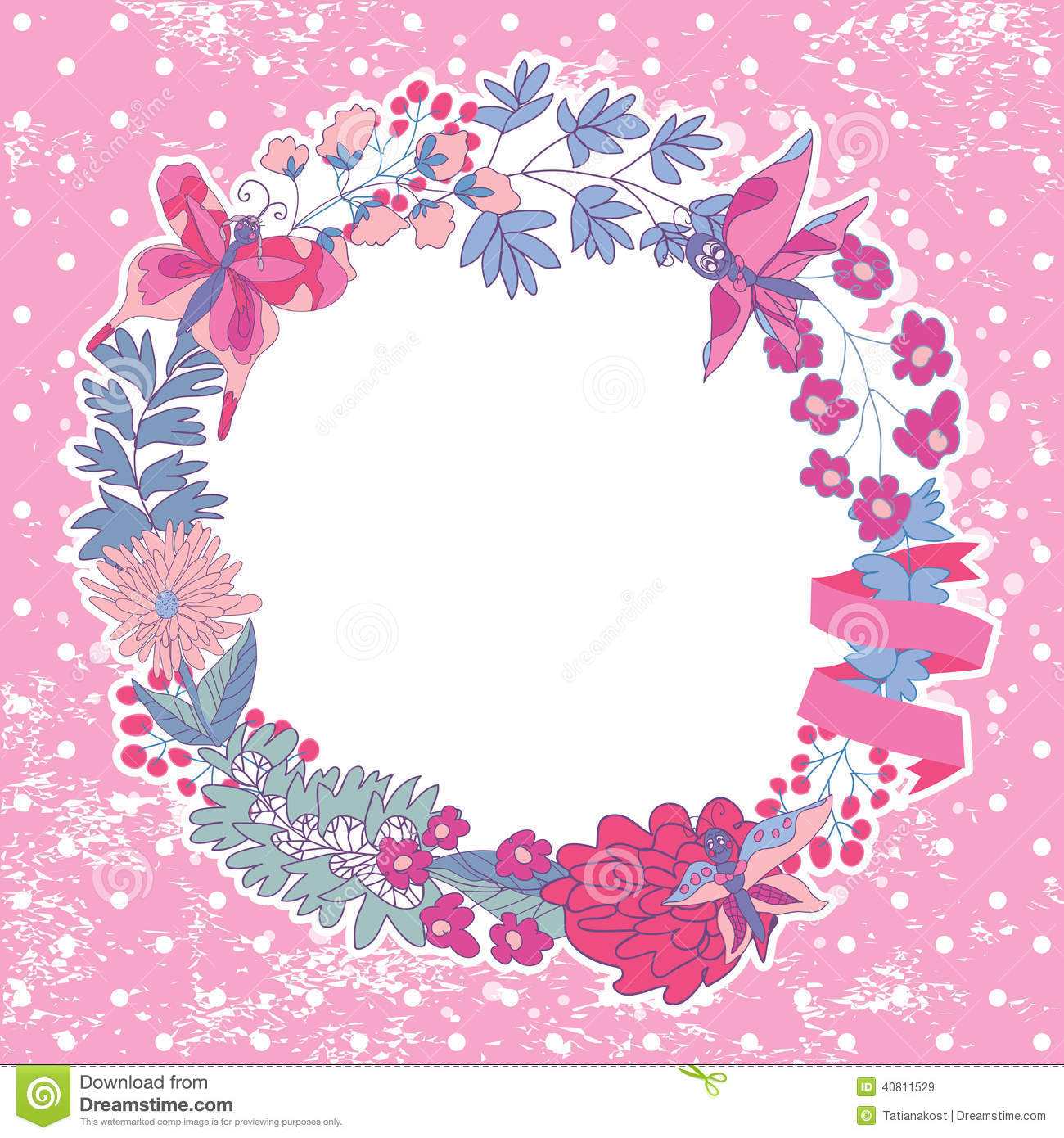 Stylish floral frame,cards,thanks,greeting,template,background with ...