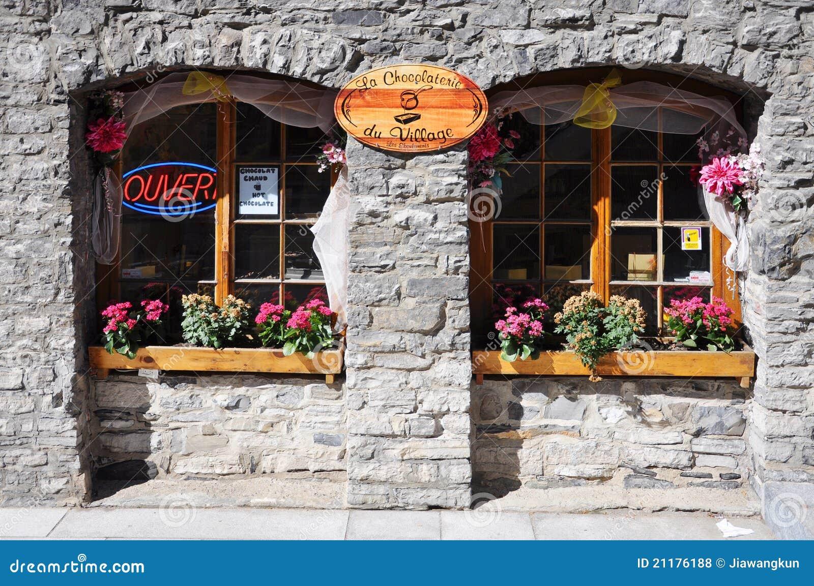La Chocolaterie du Village in Quebec City