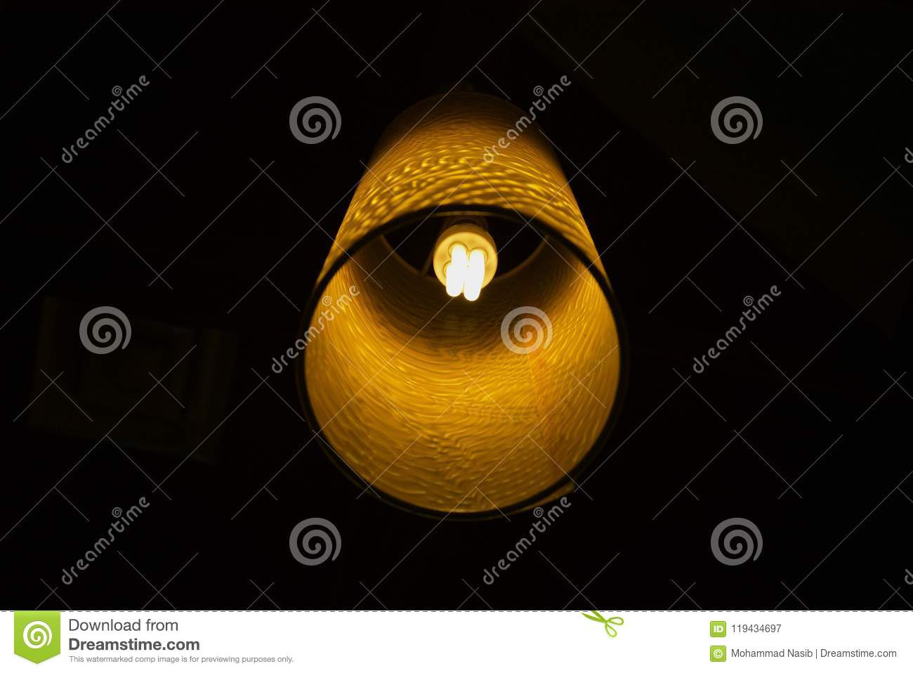 Download Beautiful Round Shape Interior Lights Unique Photograph Stock Image - Image of stock, round: 119434697