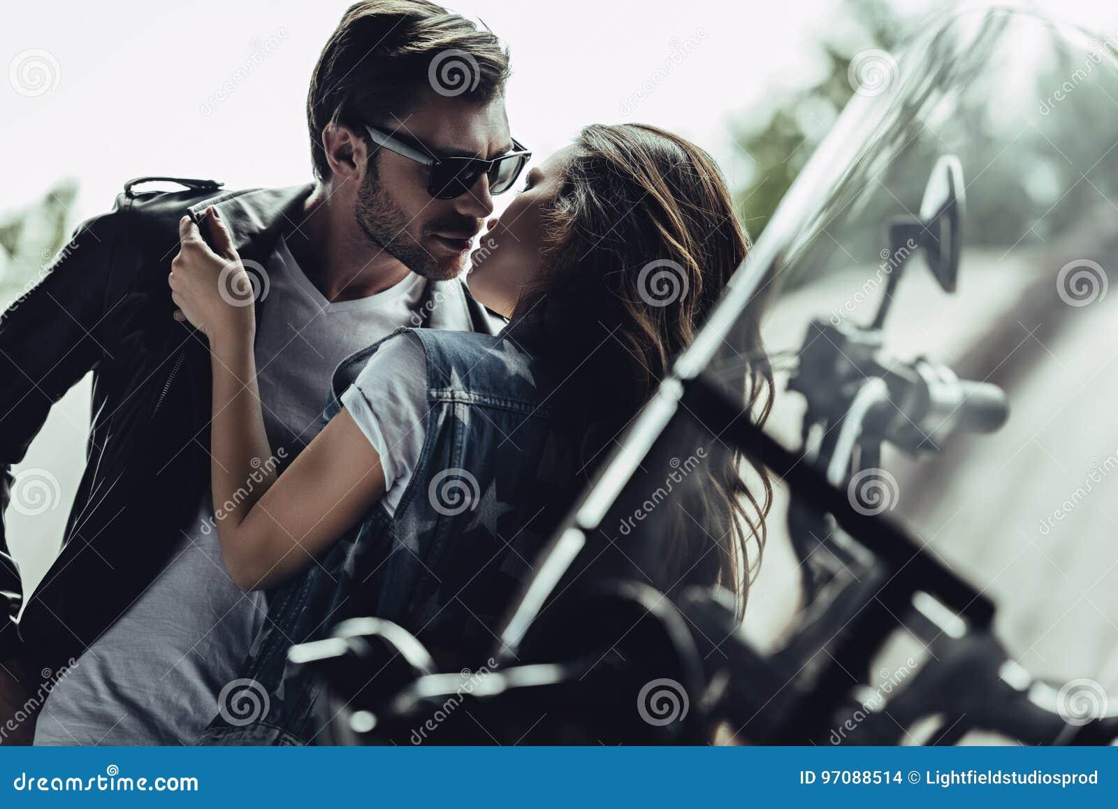 Romantic Bike Couple Wallpaper Automotive Wallpapers