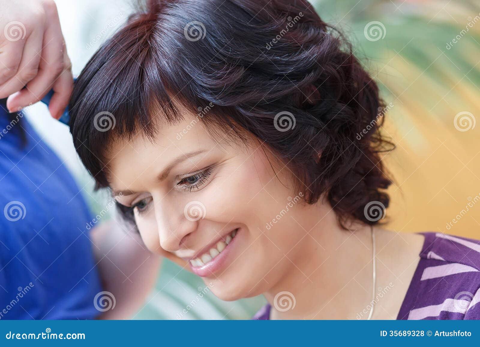 Wedding Beautiful Woman Lucia Prepares 38
