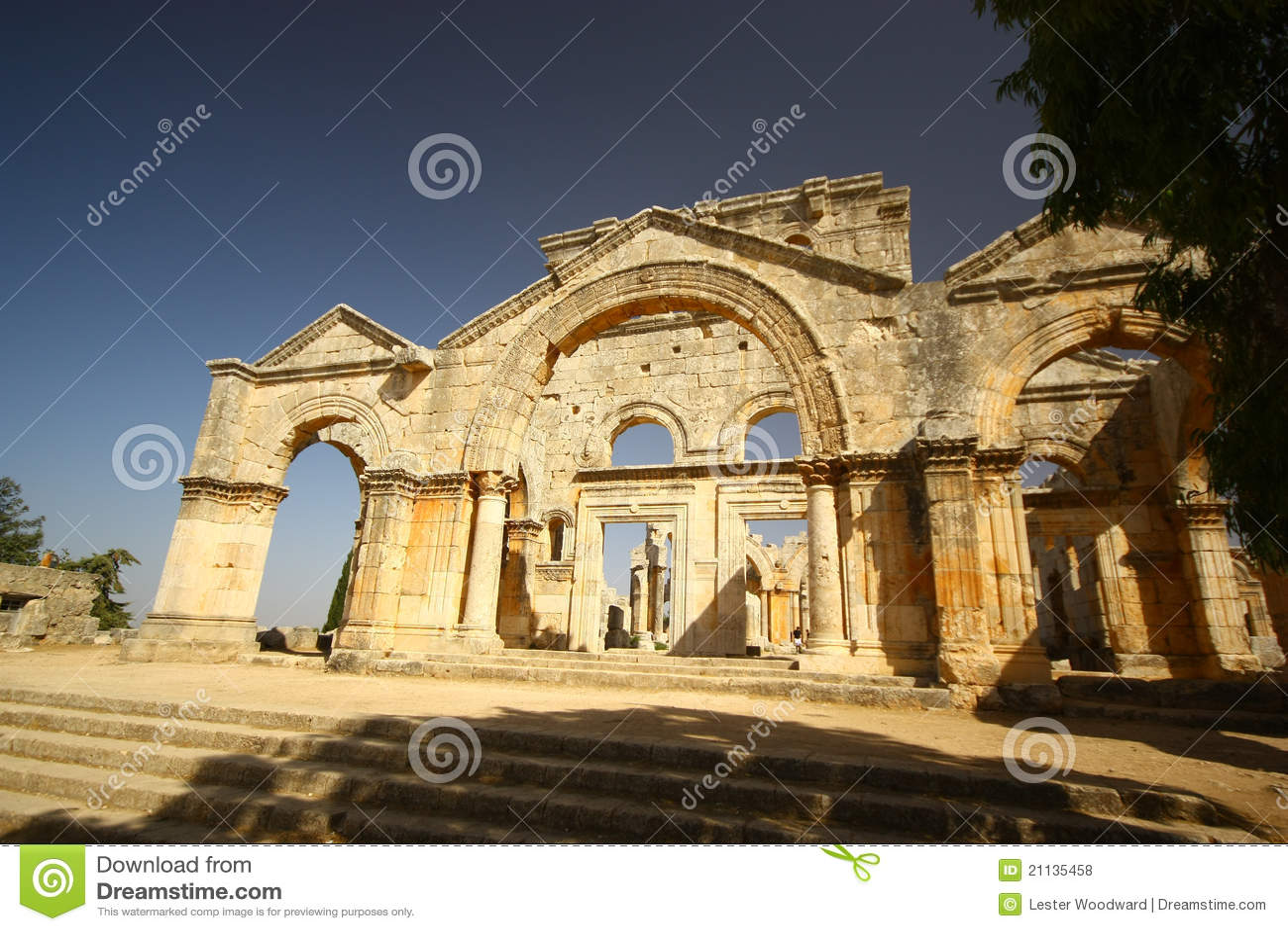 Stylites för basilicasaintsimeon