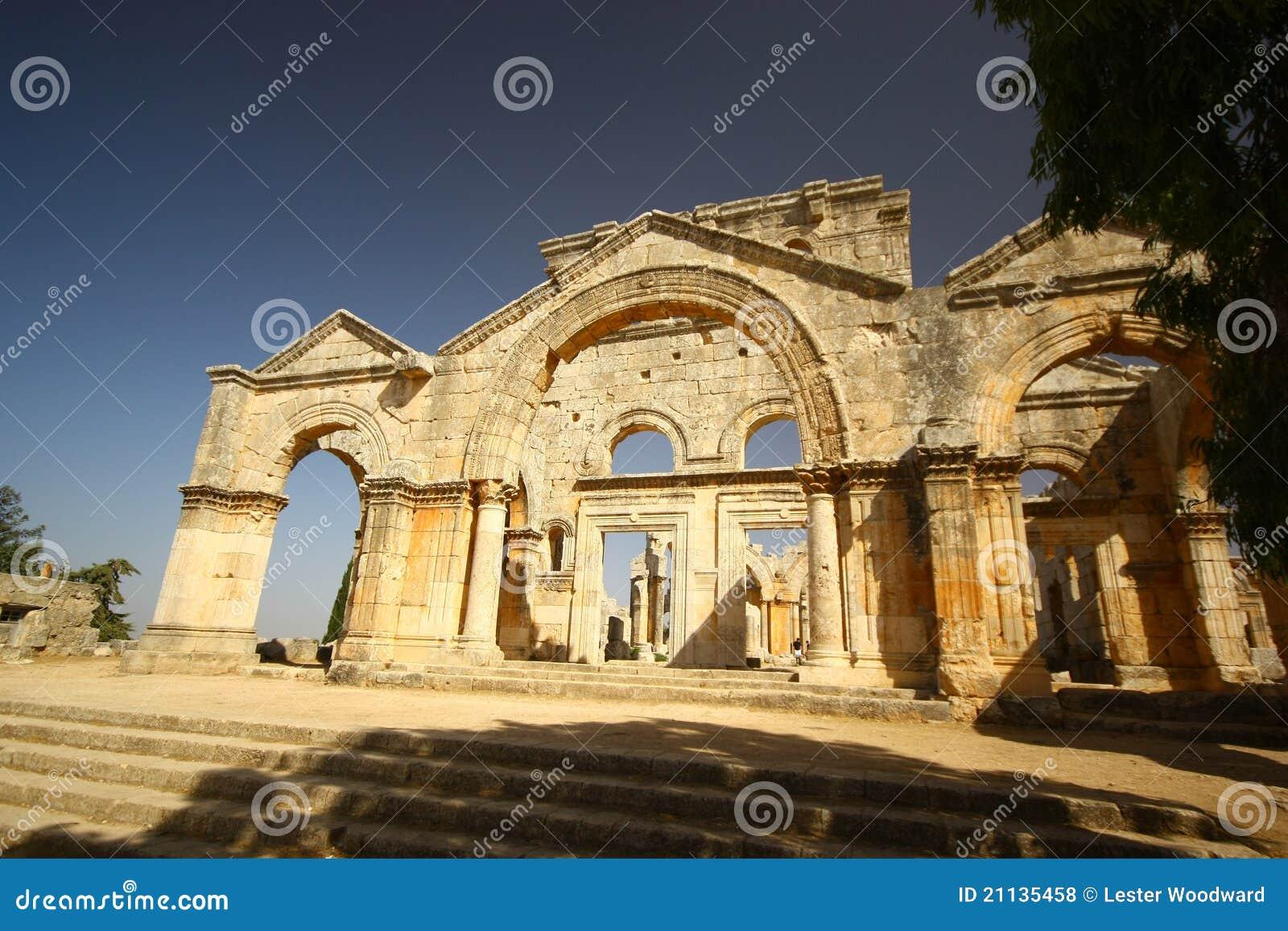 Stylites simeon святой базилики