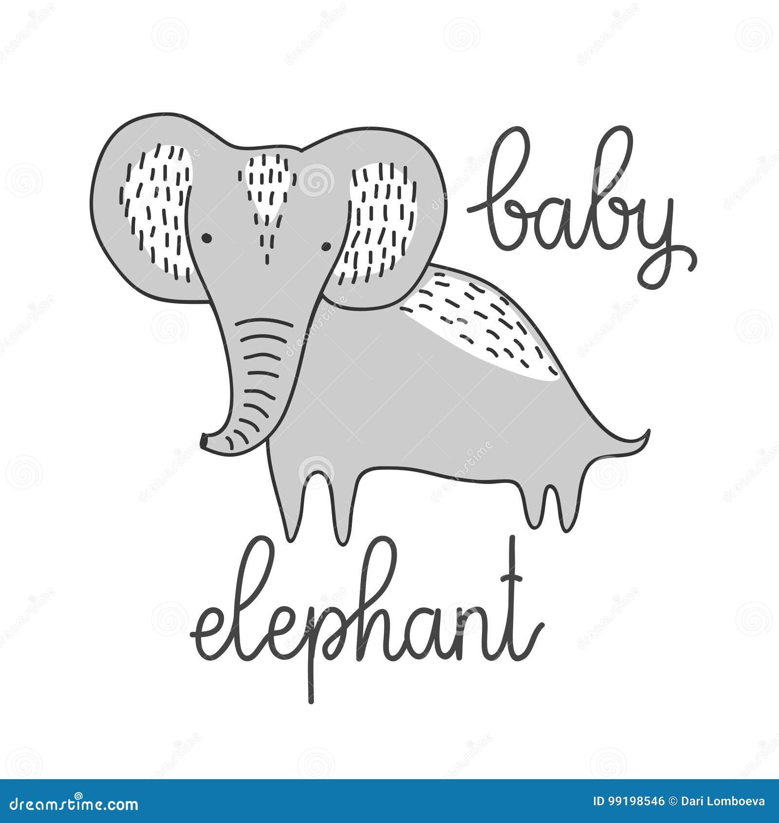 Outline Stencil Printable Elephant Design Pretty   www.picturesboss.com
