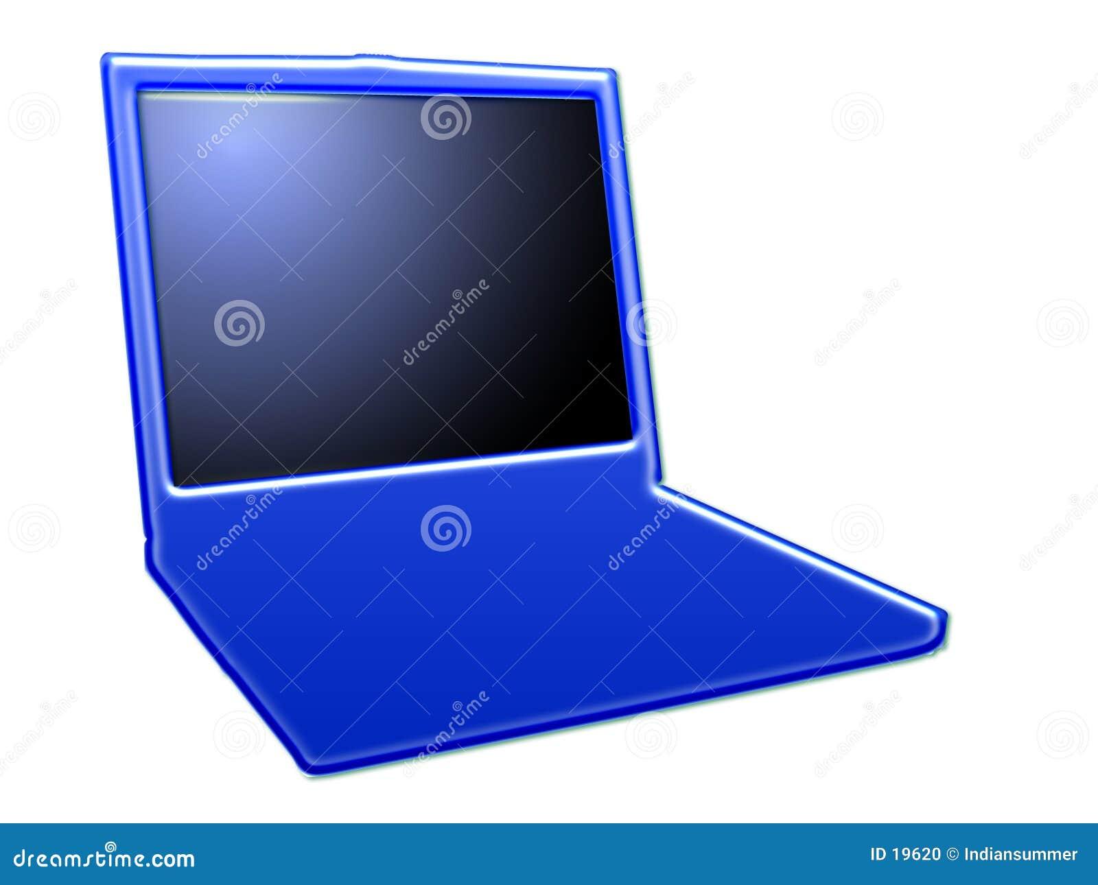 Stylized laptop, II