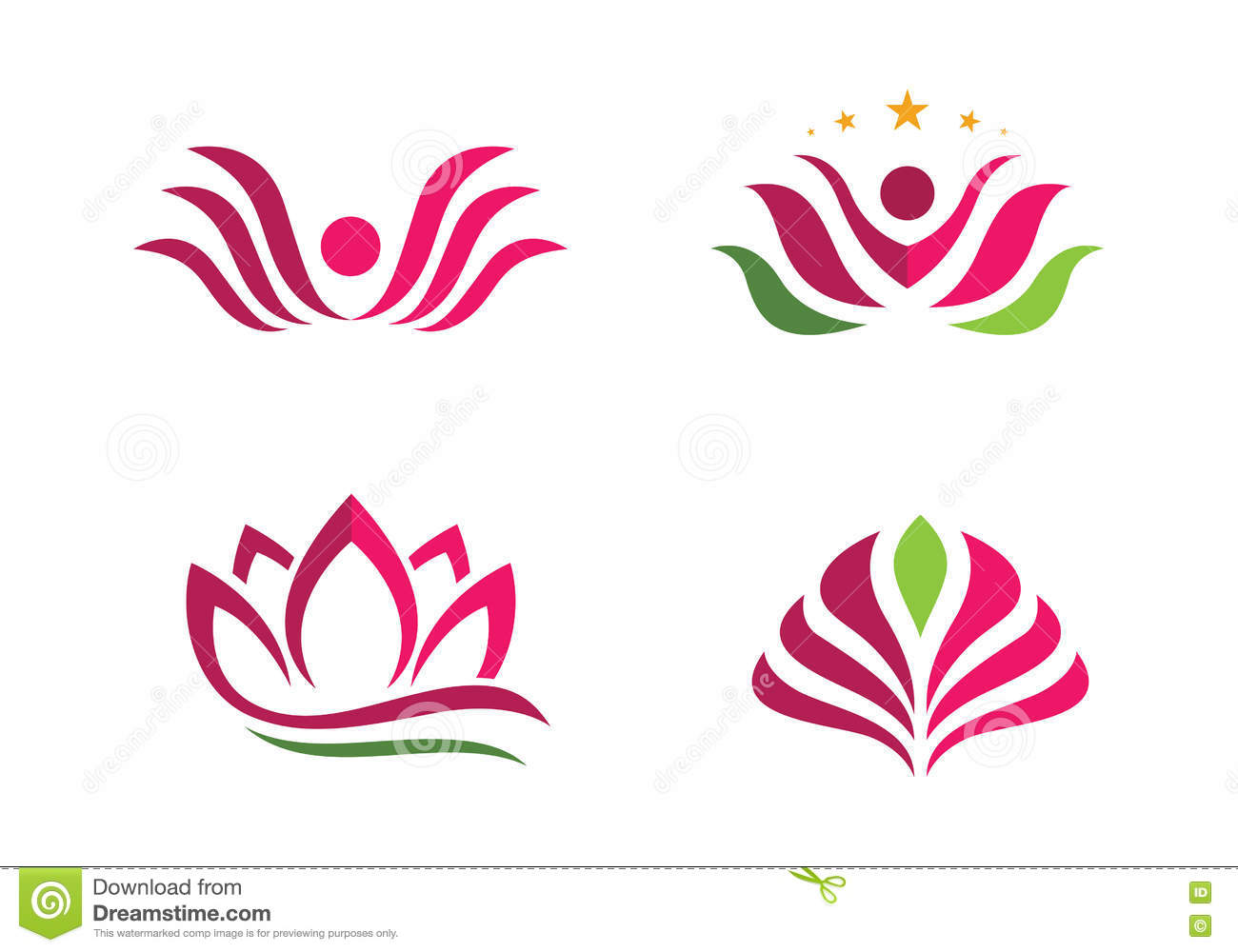 Stylized lotus flower icon vector background stock vector stylized lotus flower icon vector background beauty icons izmirmasajfo Images