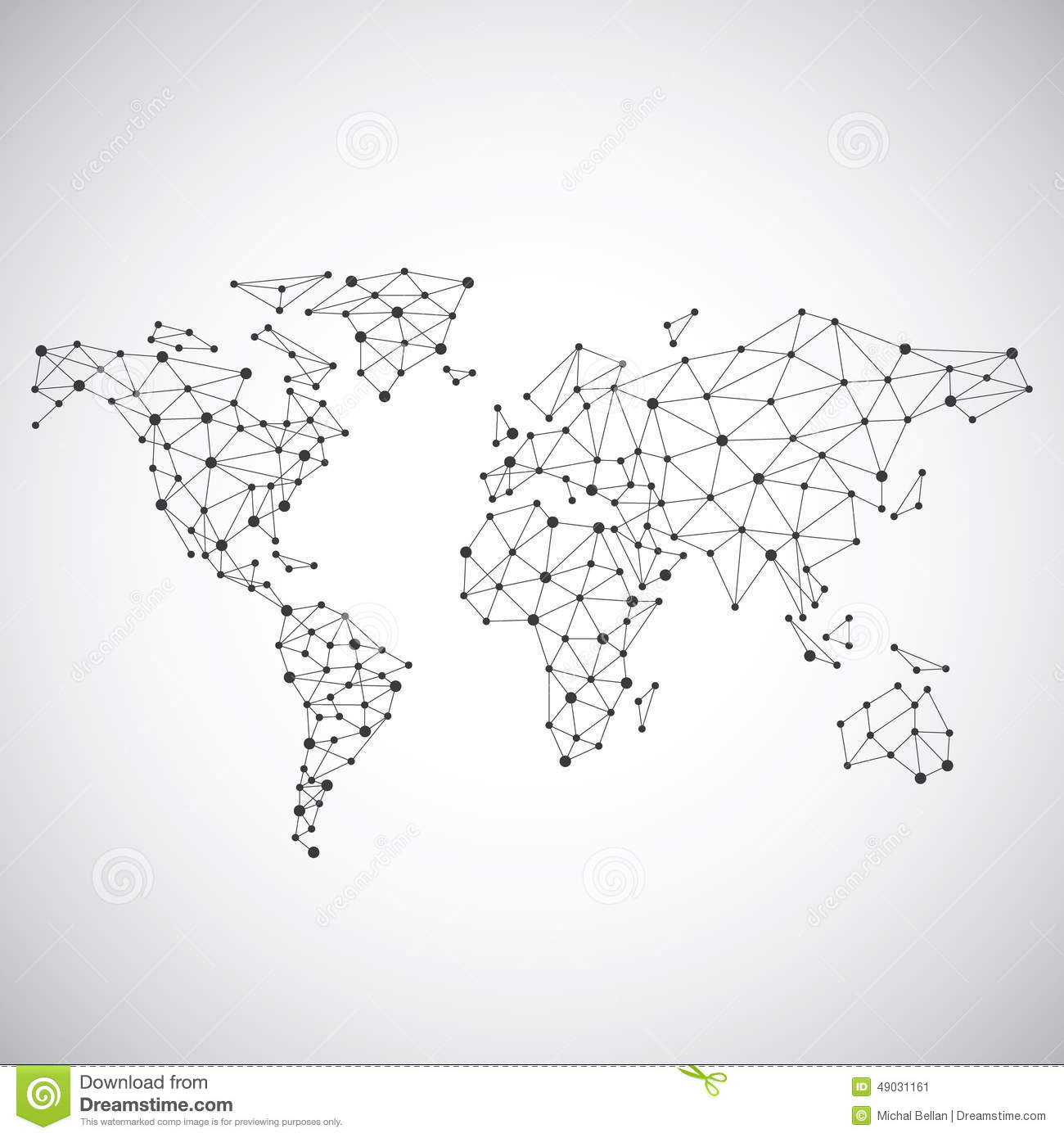 Stylized low poly world map concept with wired construction of stylized low poly world map concept with wired construction of connection concept globes business background gumiabroncs