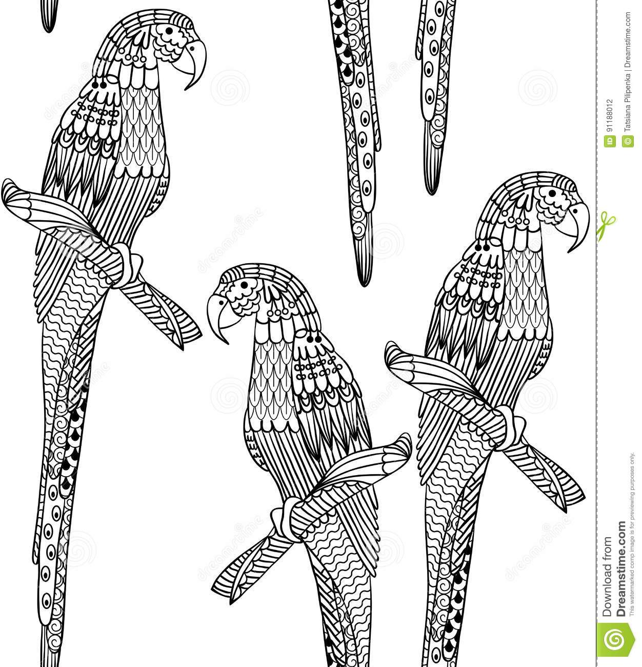 Flying macaw coloring pages - dinocro.info