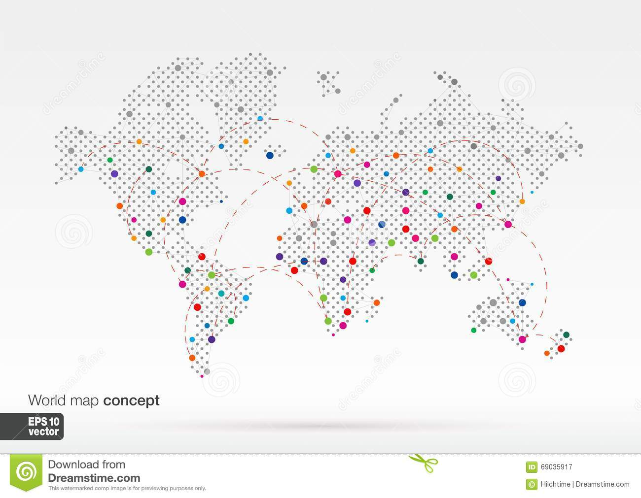Stylized world map infogrophics concept stock vector illustration stylized world map infogrophics concept royalty free vector gumiabroncs Gallery