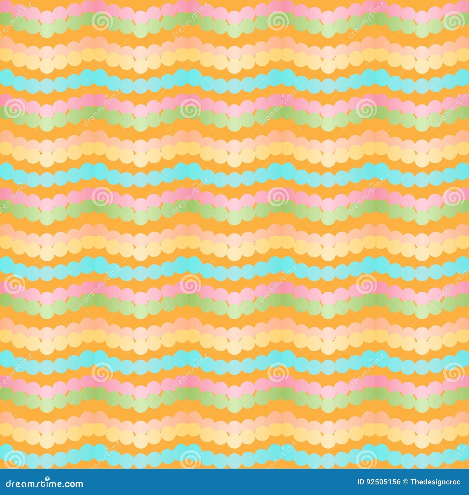 Stylizowanego szewronu zygzag bezszwowy wzór Geometryczni kolorowi gradientów lampasy