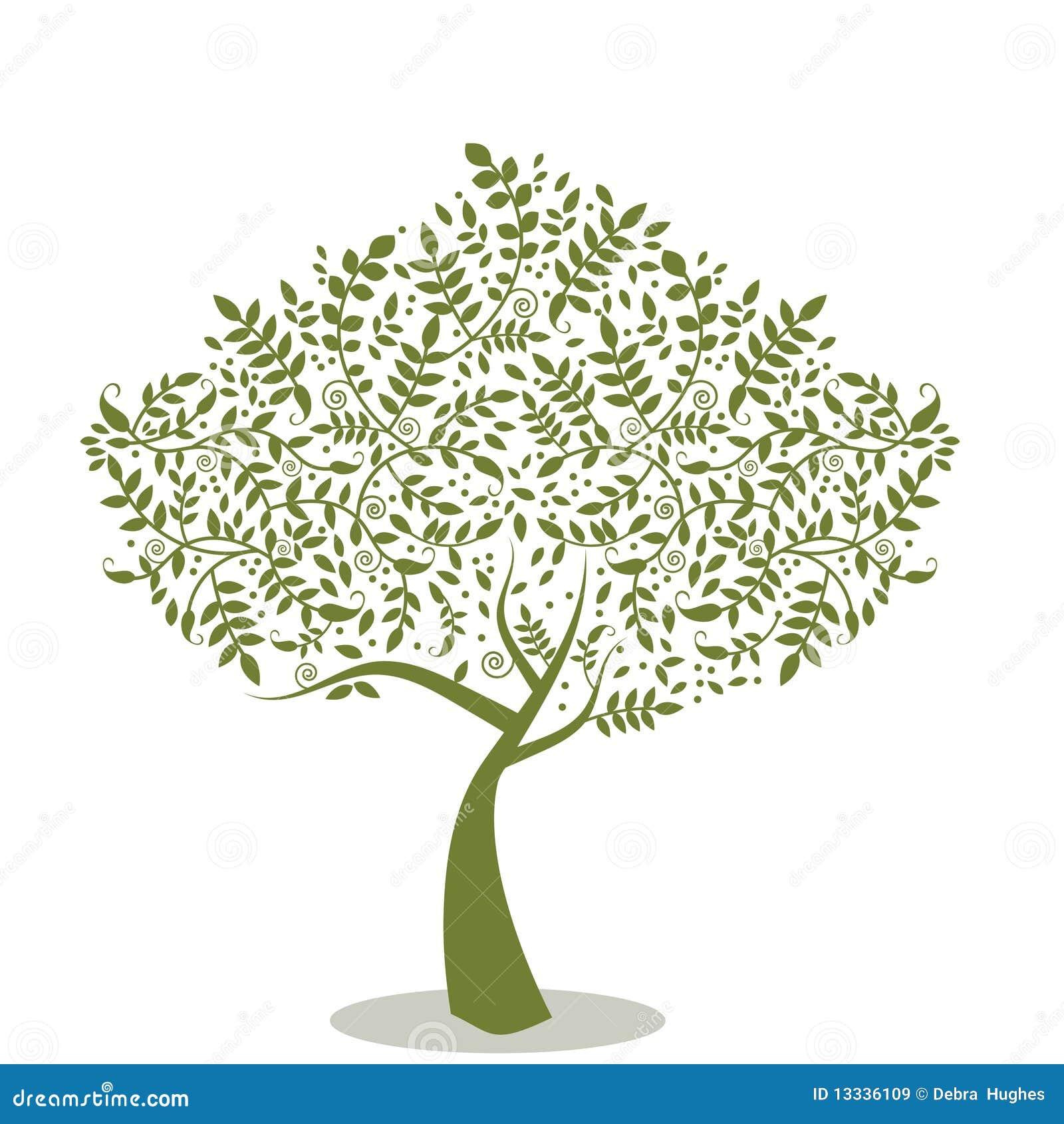 Stylizowany drzewo