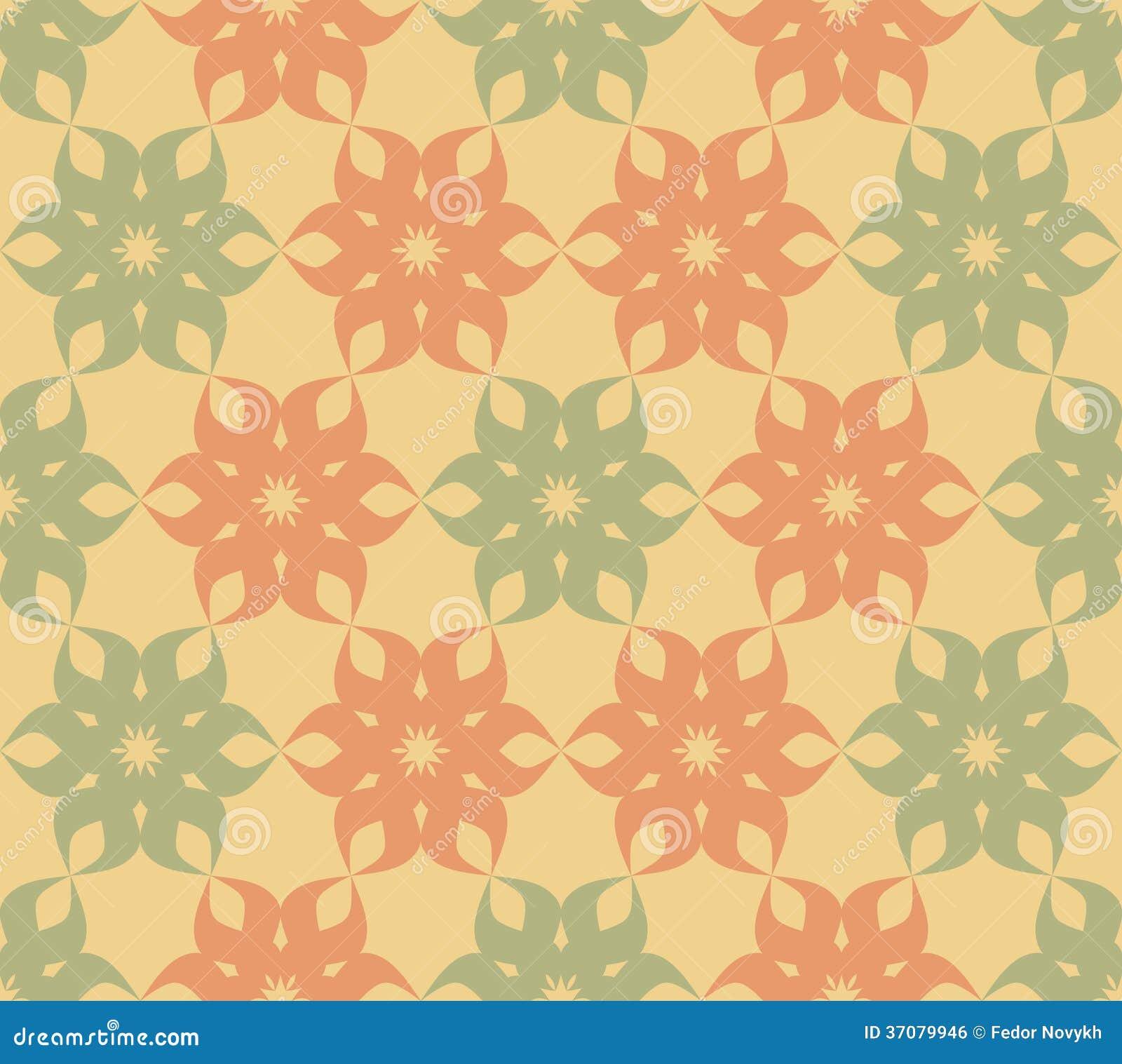 Download Stylizowany kwiecisty wzór ilustracja wektor. Ilustracja złożonej z dekoruje - 37079946