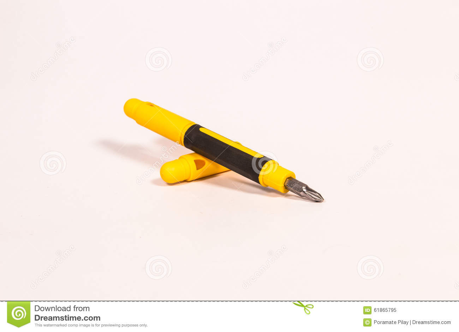 stylo de poche de tournevis photo stock image 61865795