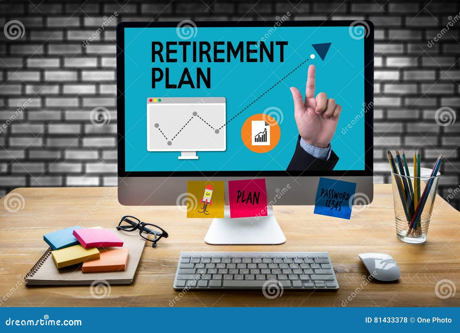 Stylo supérieur de régime de retraite d investissement de l épargne de RÉGIME DE RETRAITE