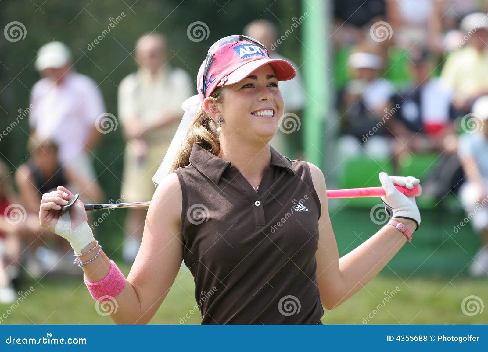 Styrer evian golf 2006 för creameren paula