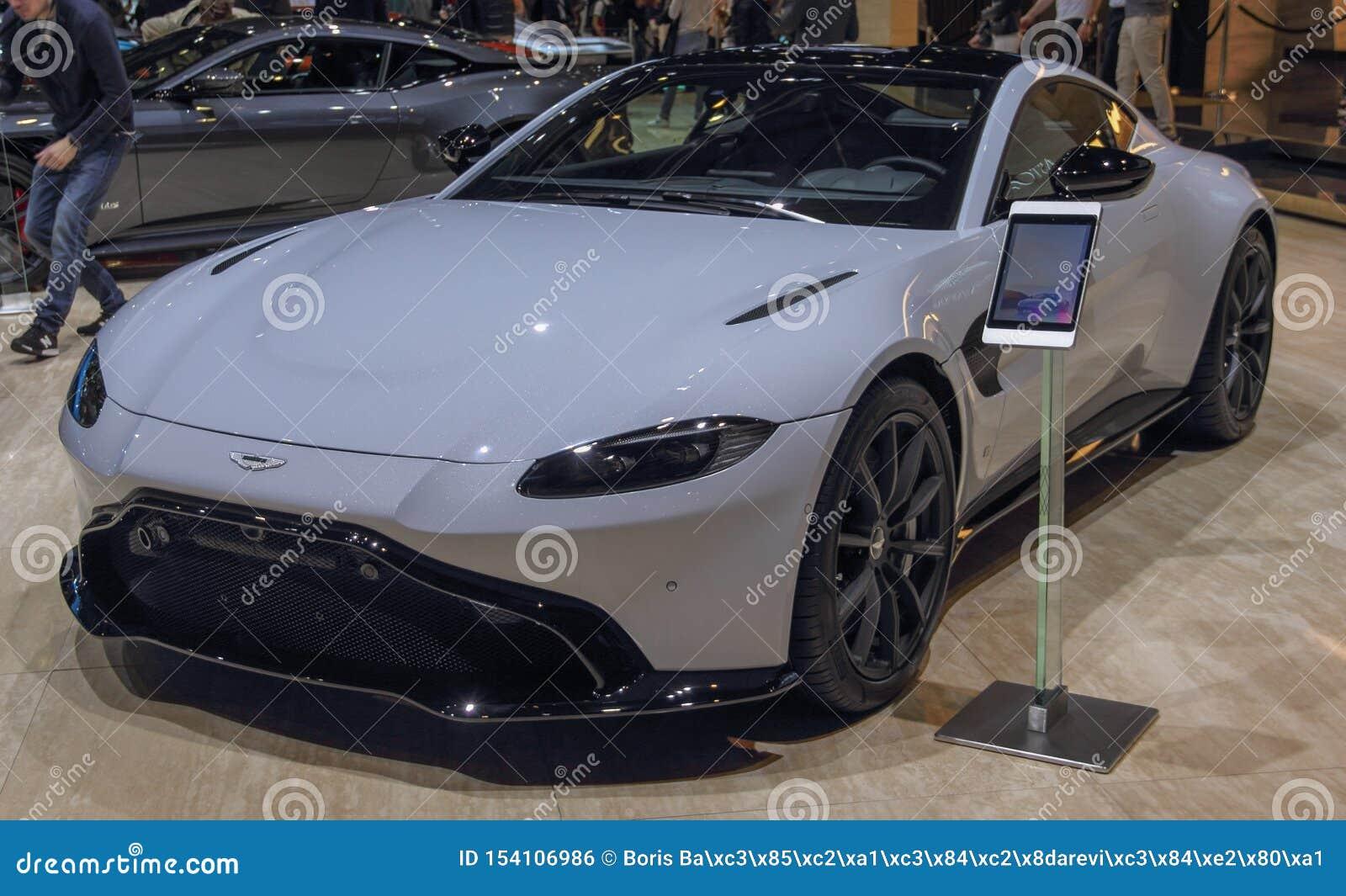 Suíça; Genebra; 10 de março de 2019; Asti Matrin; A 89th exposição automóvel internacional em Genebra do 7a ao 17a de março de 20