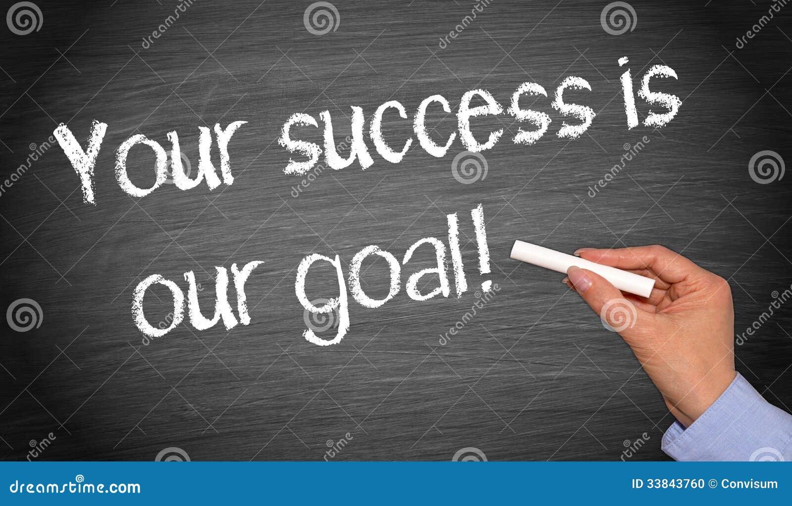 Su éxito es nuestra meta