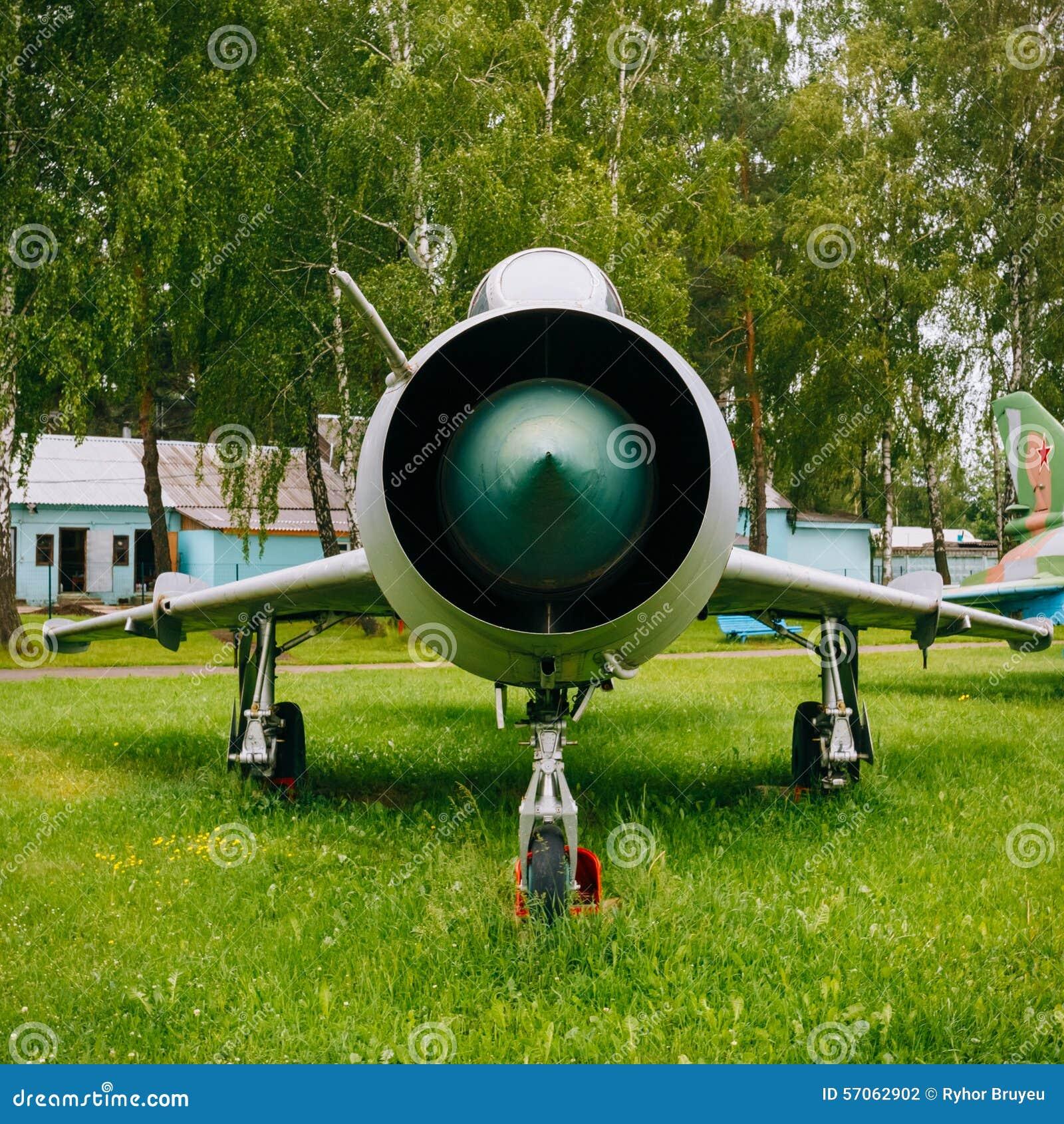 Su-7 Russische Sovjet binnen ontwikkelde jachtbommenwerper
