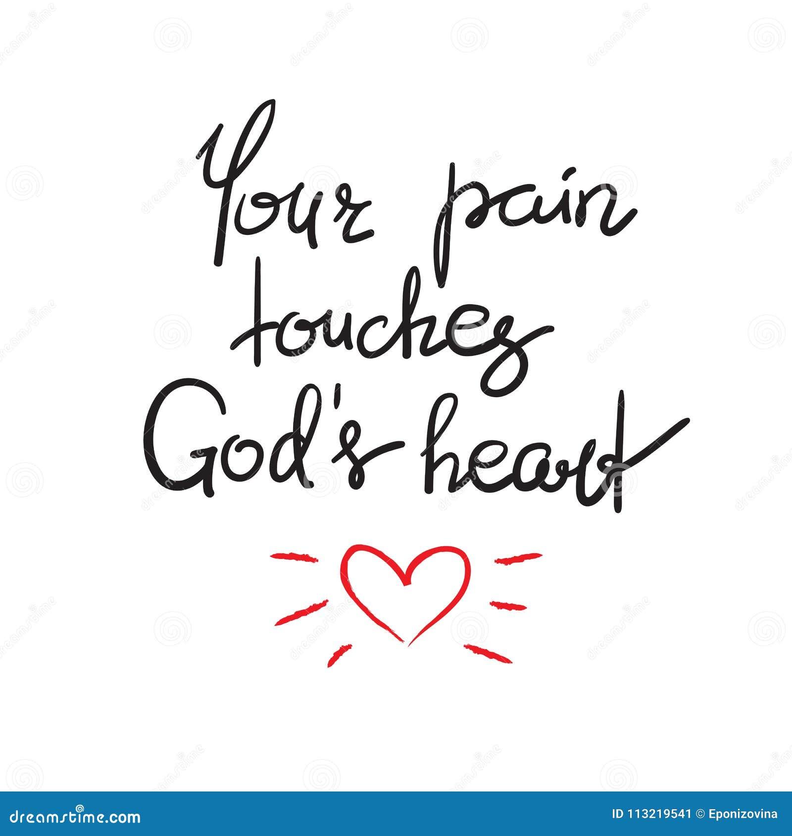 Sua dor toca no coração dos deuses