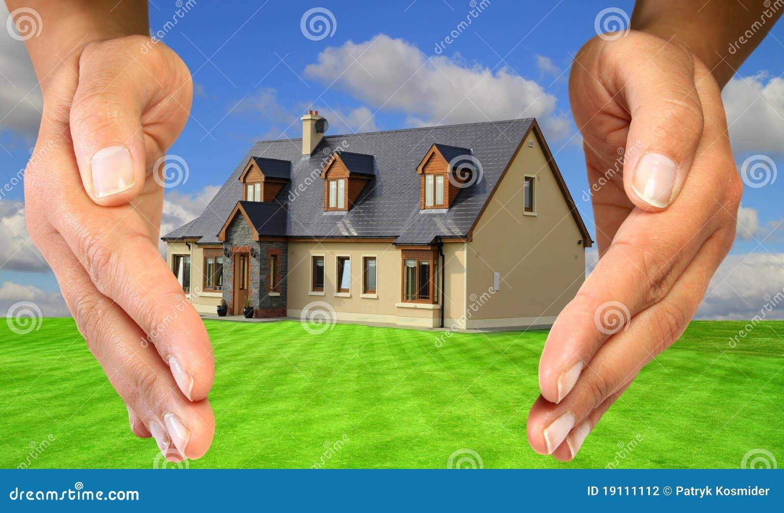 fa6a663fb7bef Sua proteção da casa foto de stock. Imagem de objeto - 19111112