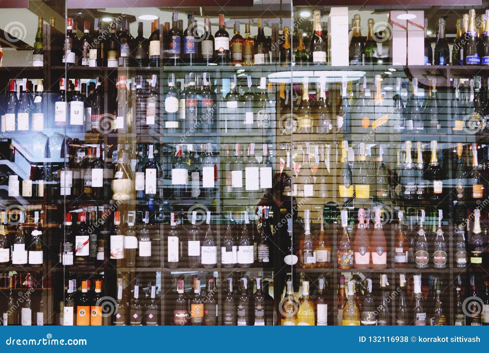 Suan luang Thailand 17 november 2018 alkoholiserat lager