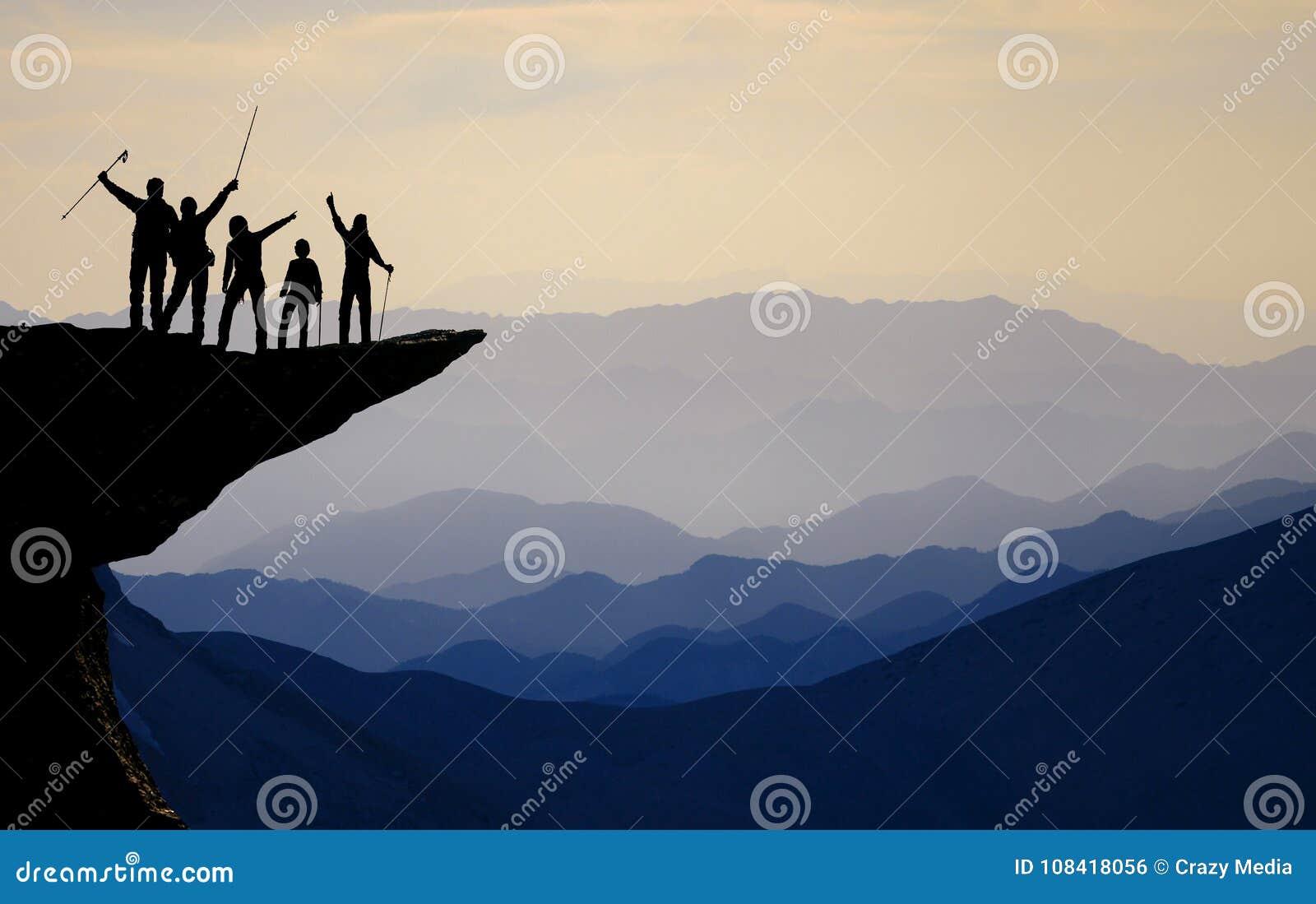 Suba el éxito al pico más alto del ` s del mundo