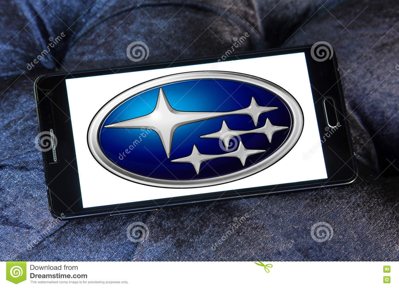 Subaru Car Logo Editorial Stock Photo Image Of Subaru 76895068