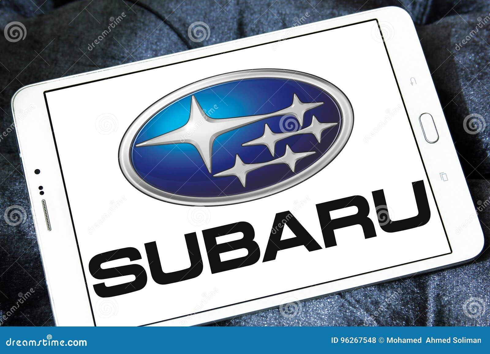 Subaru Car Logo Editorial Stock Photo Image Of Logo 96267548