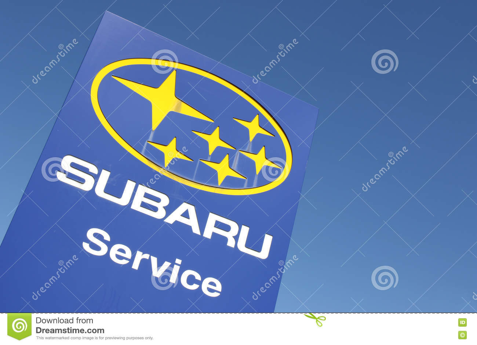 Subaru Dealership Sign Editorial Stock Image Image Of Partner