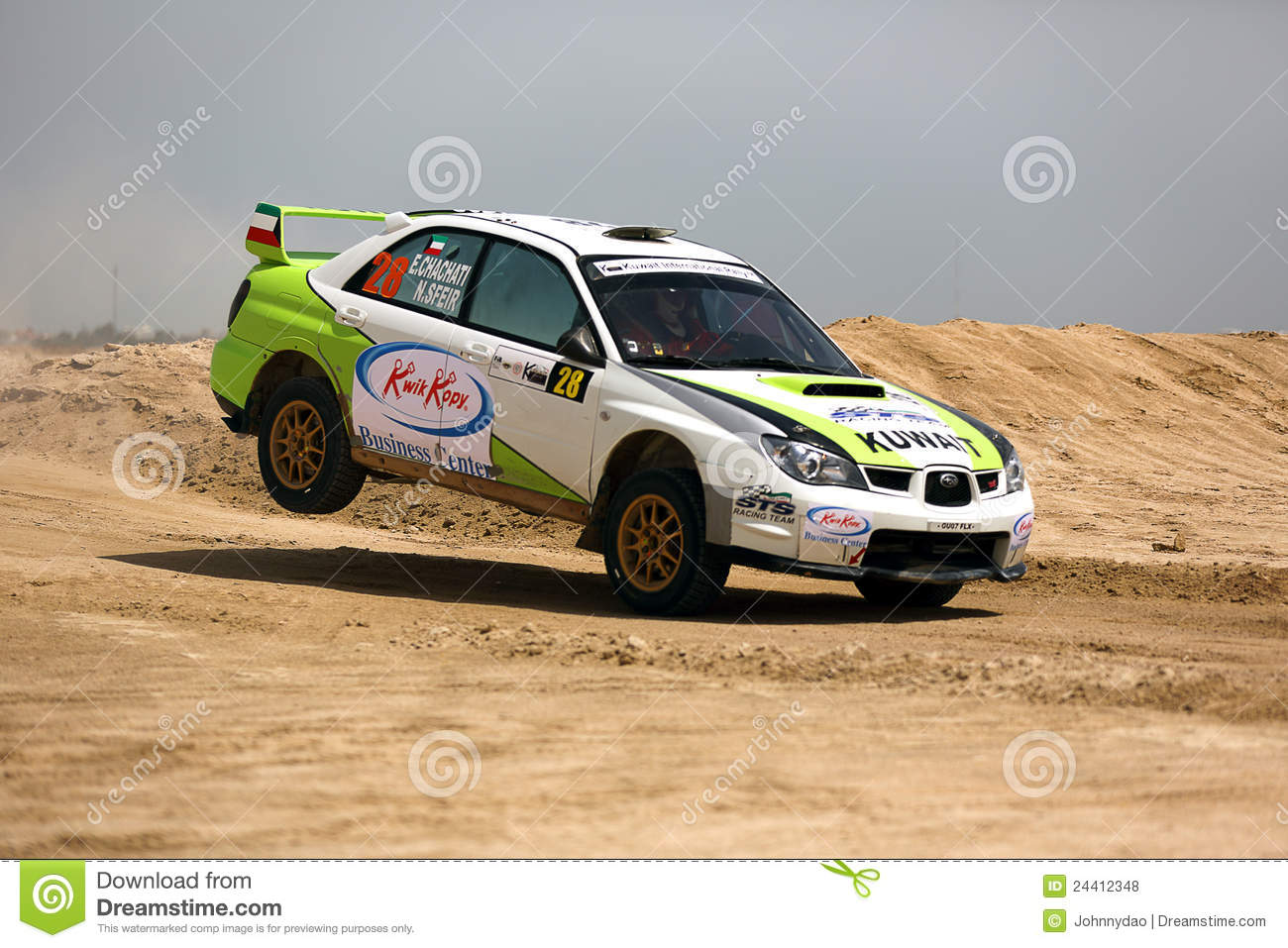 subaru-impreza-kuwait-international-rall