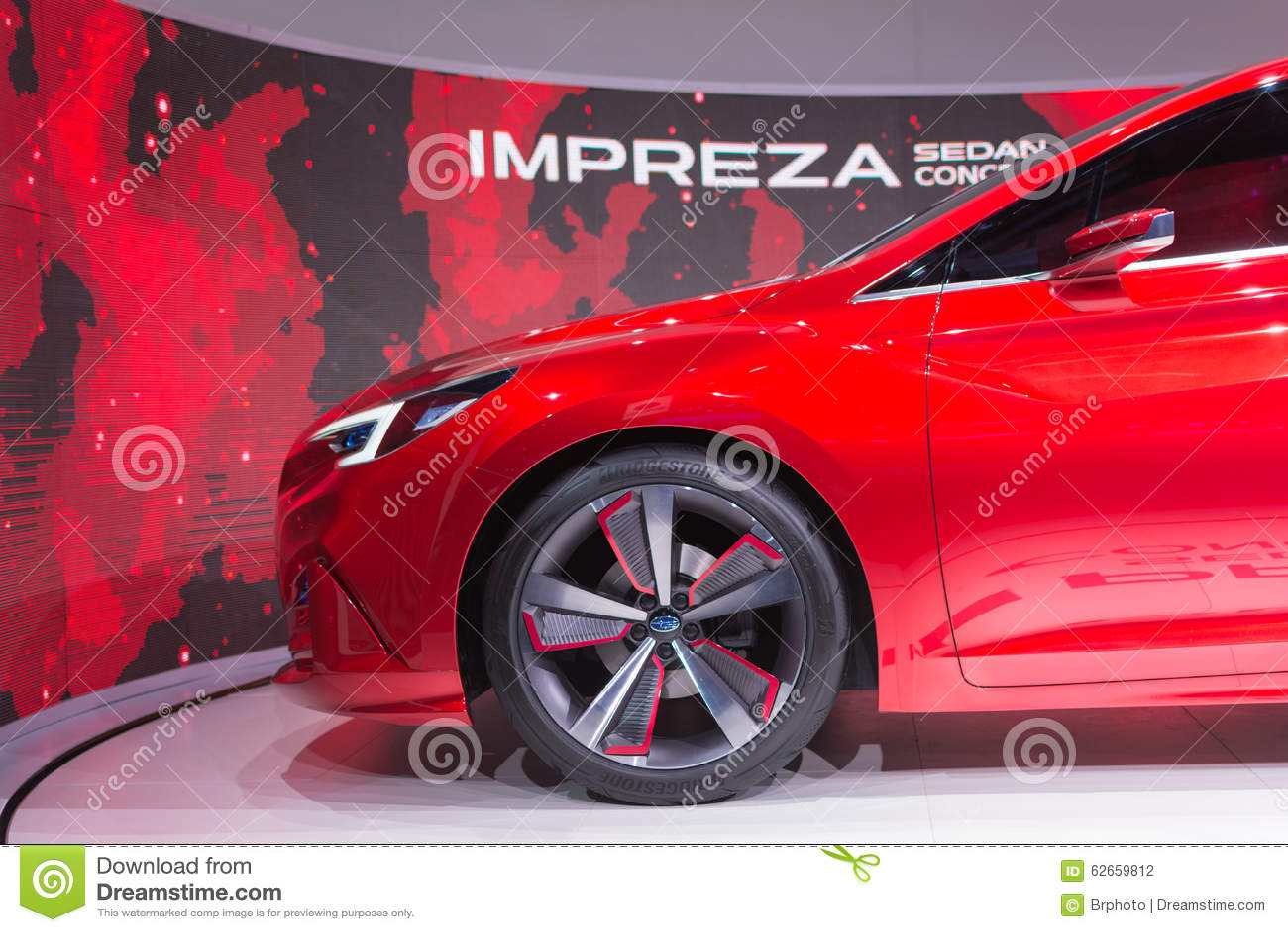 Subaru Impreza Sedan Concept Editorial Photography Image Of - Subaru car show california