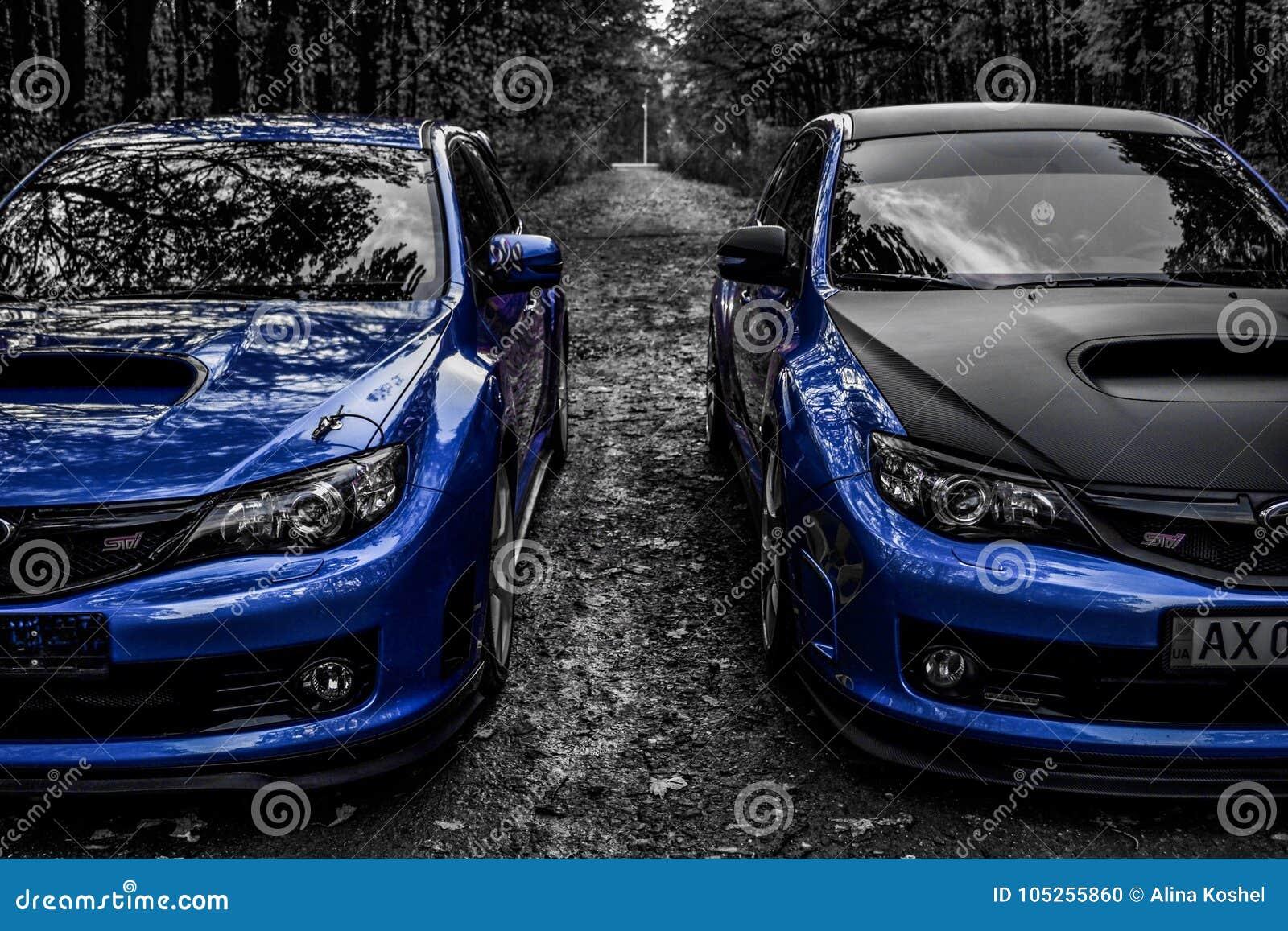 Subaru Impreza Wrx Sti Racecar Sport Car Editorial Image Image Of Impreza Sunlight 105255860