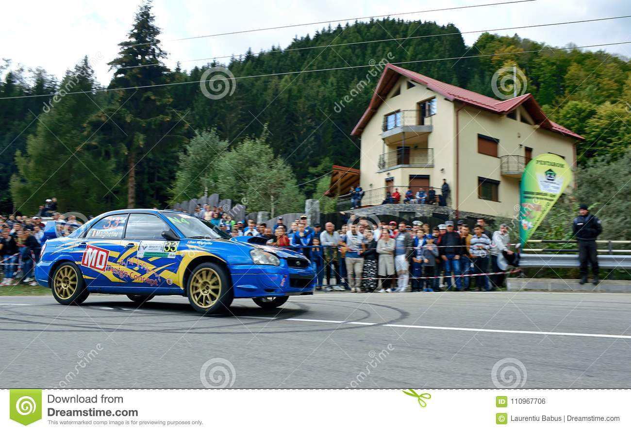 Subaru Impreza WRX STI Tuning Rally Car Editorial Photo - Image of ...