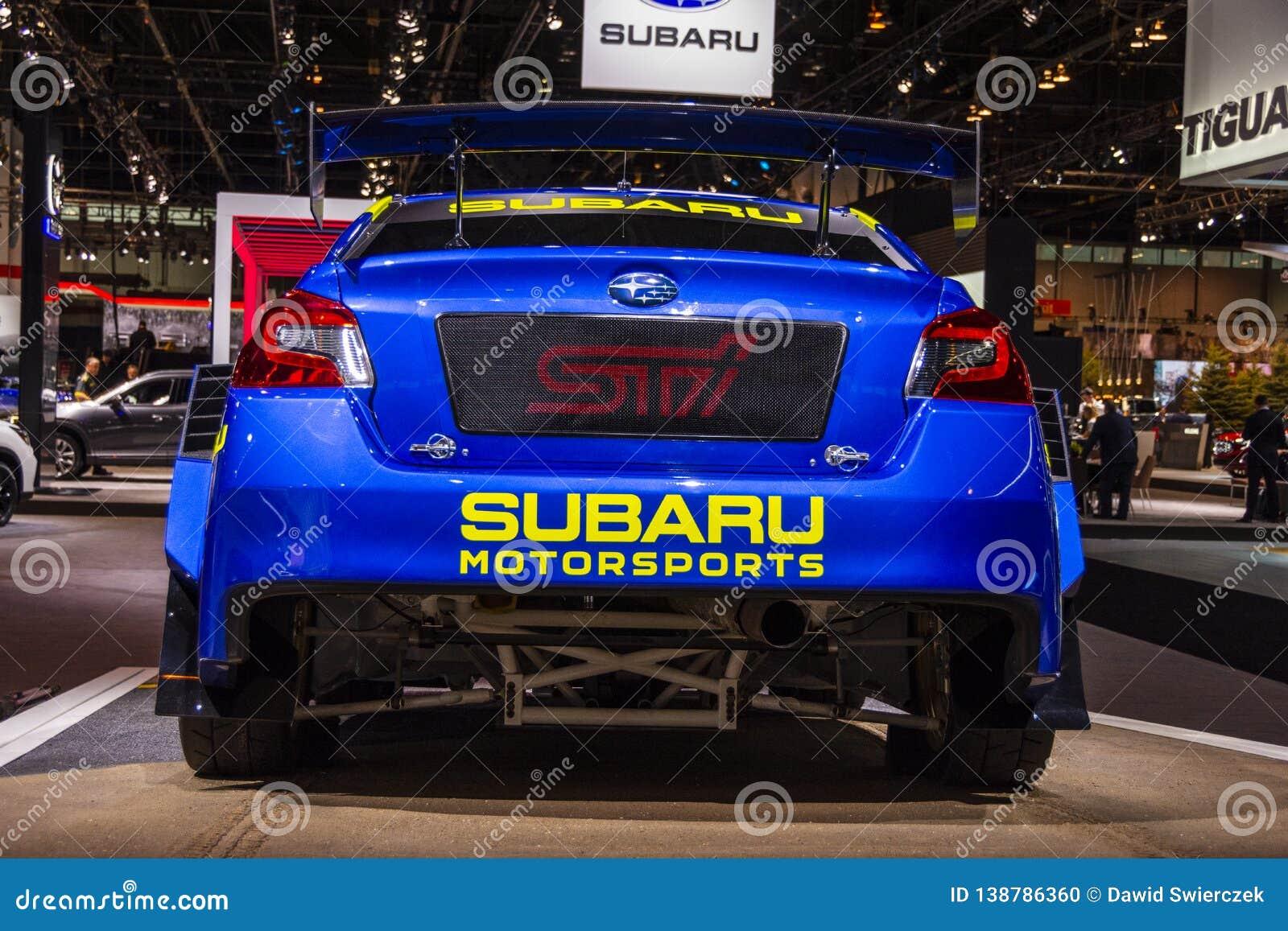2019 Subaru WRX STI VT19x Rallycross Supercar