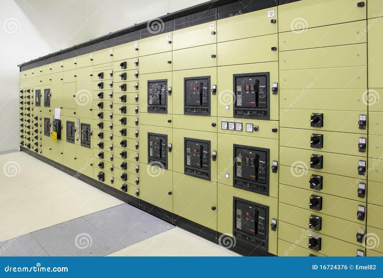 Subestação da energia elétrica