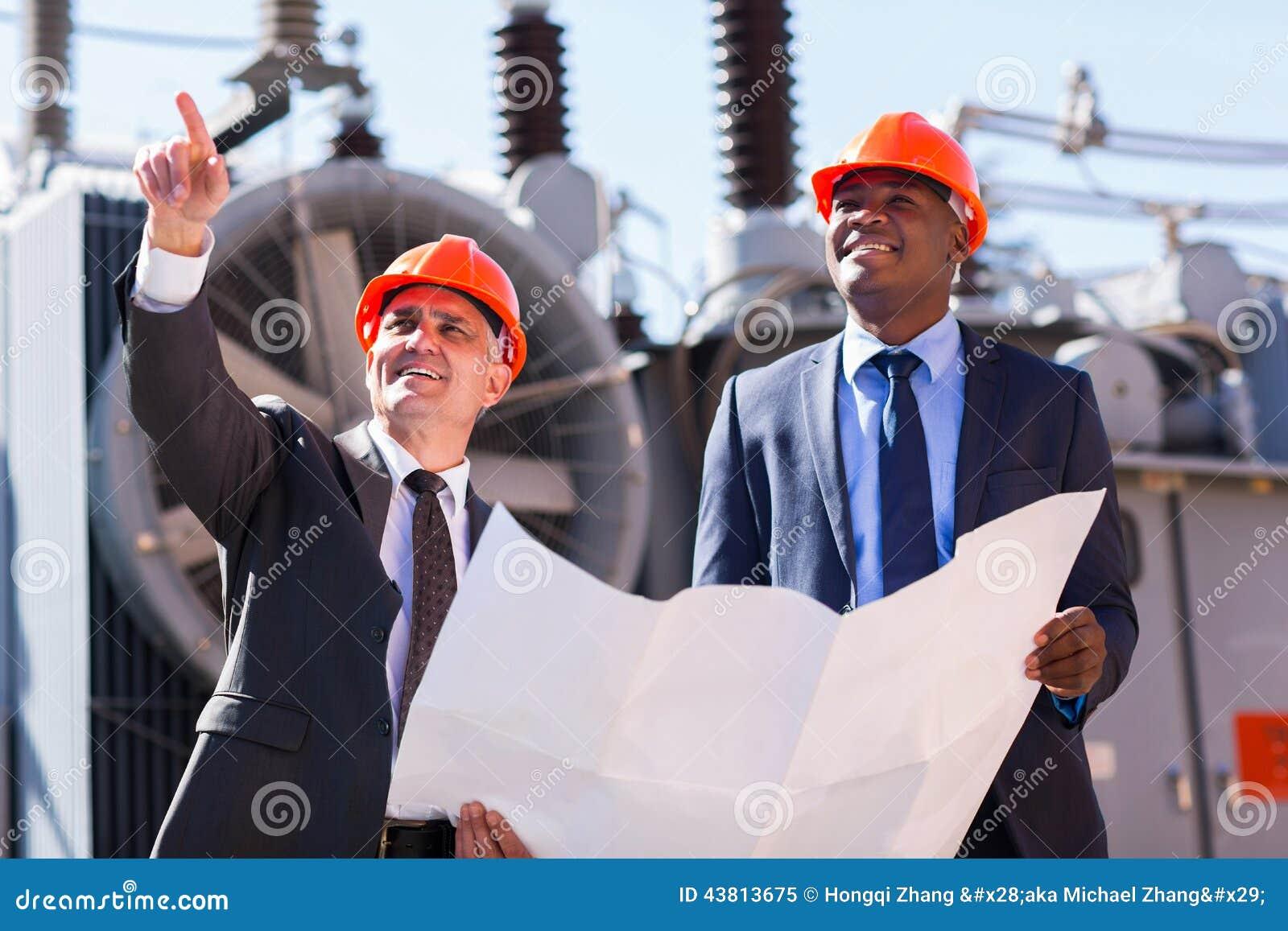 Subestação elétrica dos gerentes