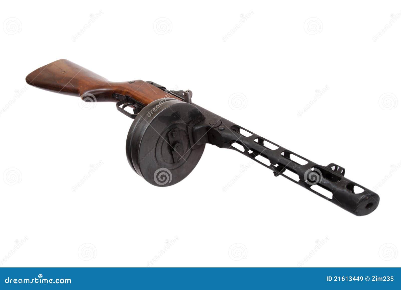 Submachine Совета ppsh пушки