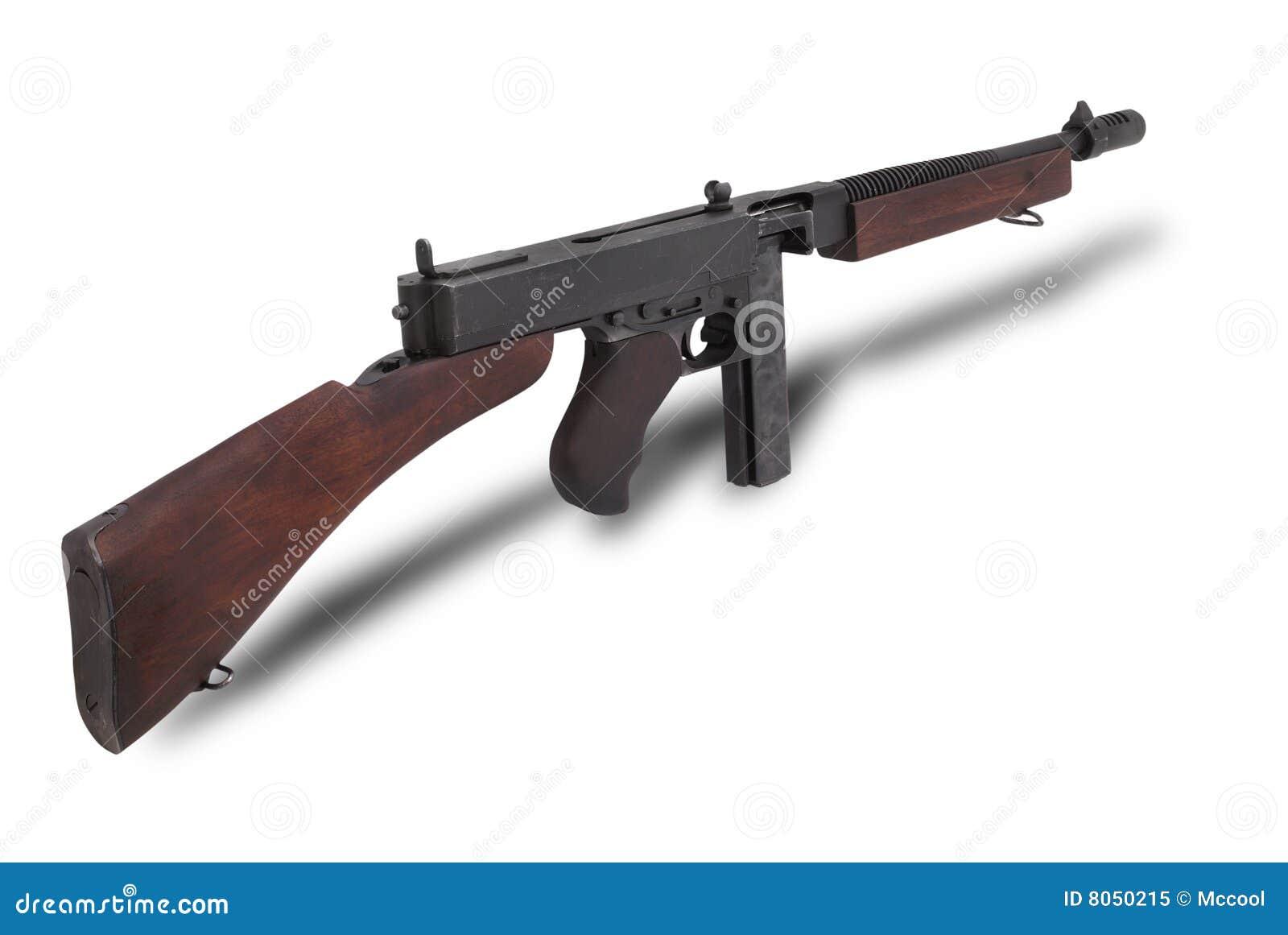 Submachine thompson США пушки