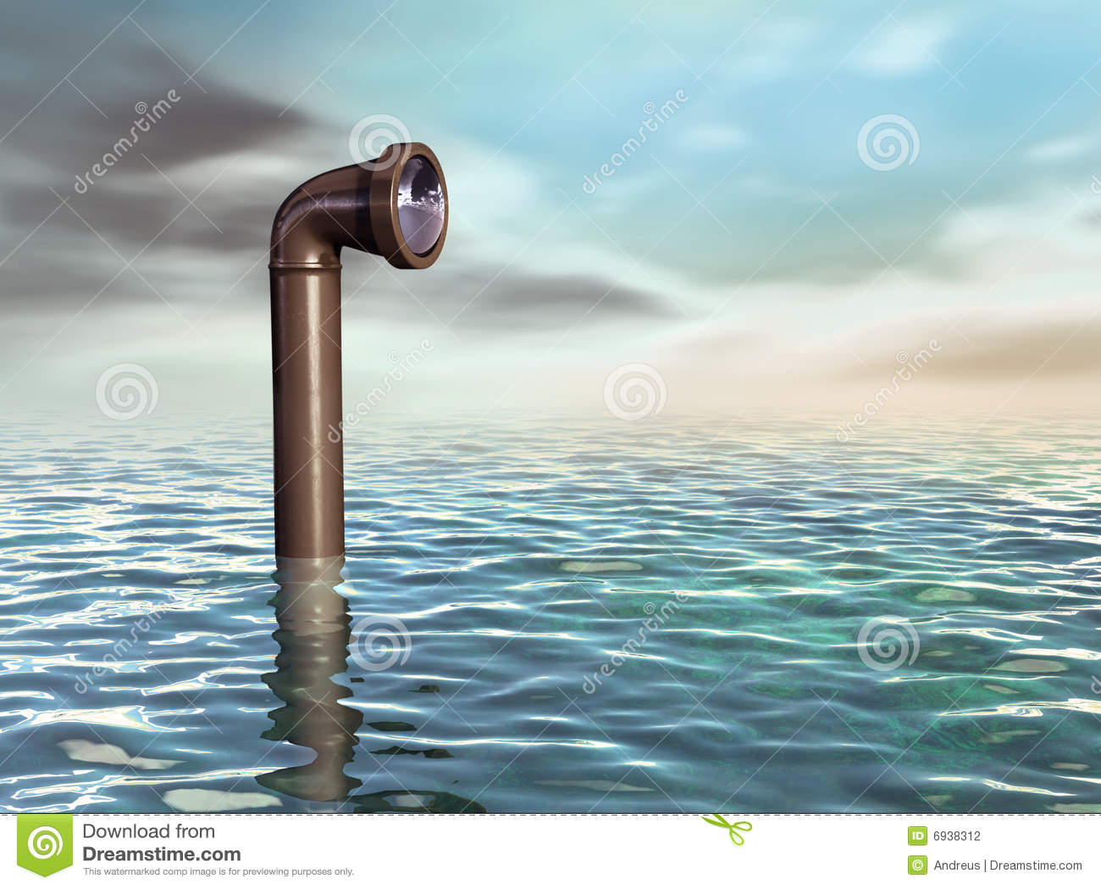 Submarine periscope